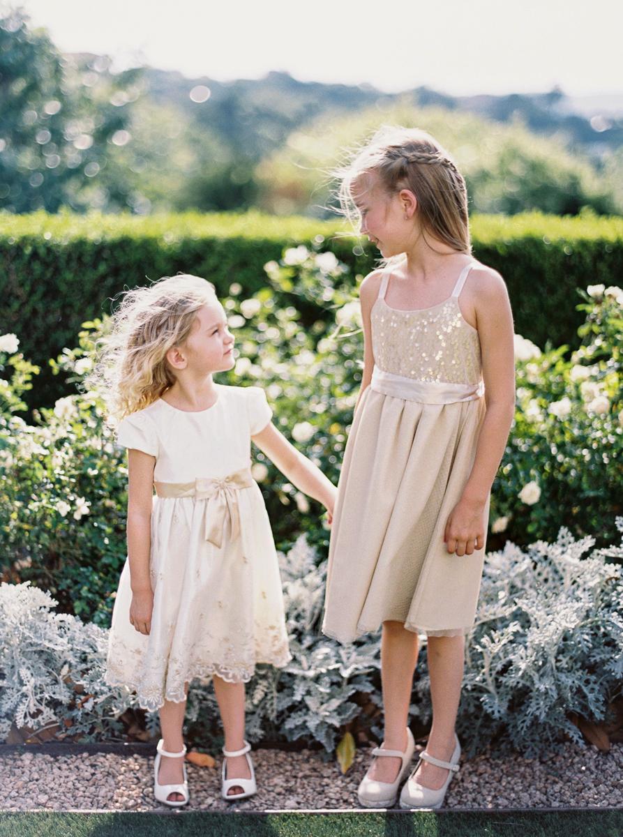 charla jesse wedding flower girls