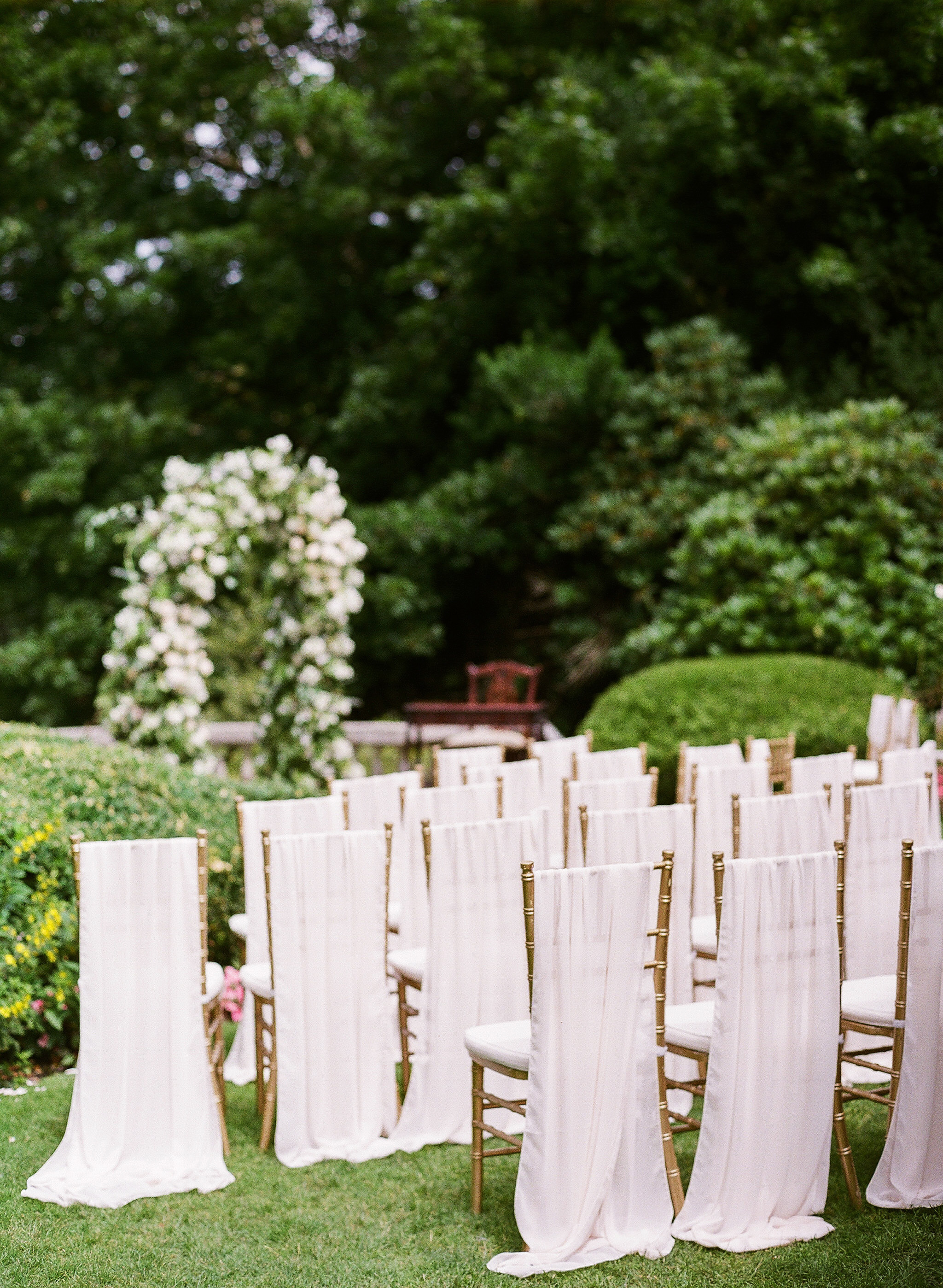 Pink Ceremony Chairs