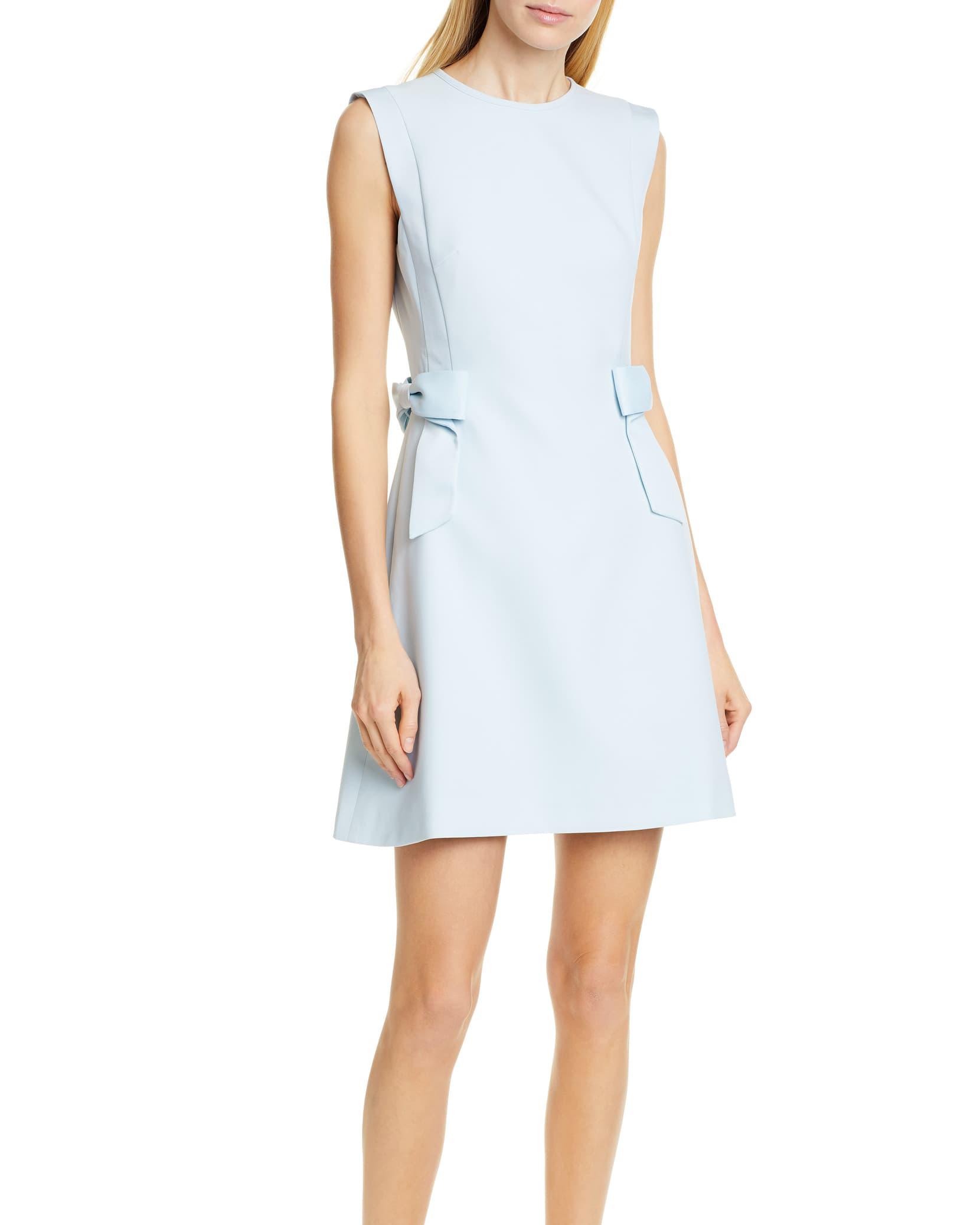 """Light Blue Ted Baker """"Meline"""" Dress"""