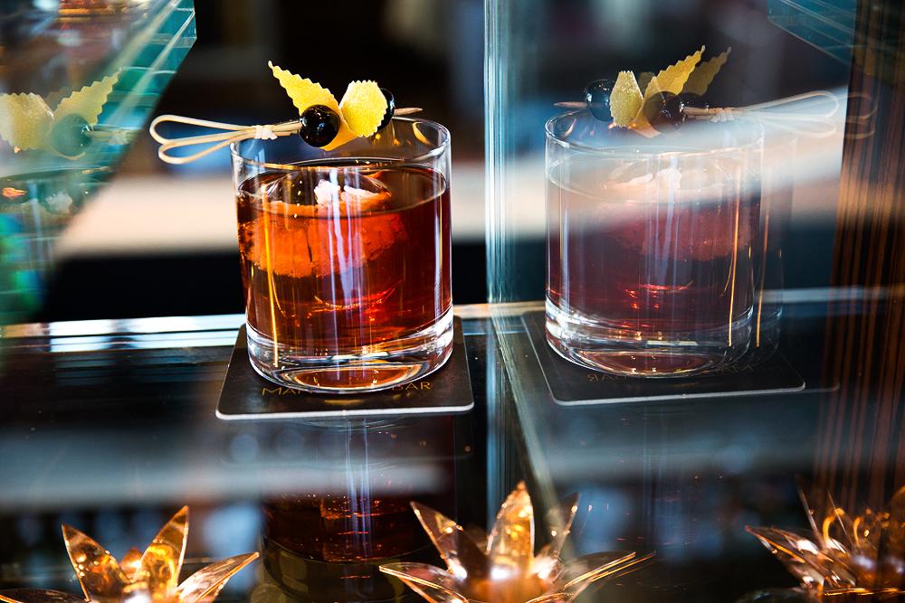 cocktails palenque old fashioned glass tumbler garnish stirrer
