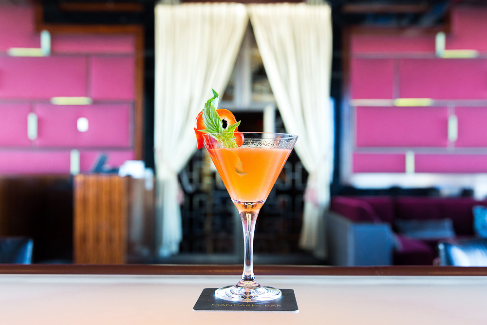 cocktails speziato glass drink orange garnish