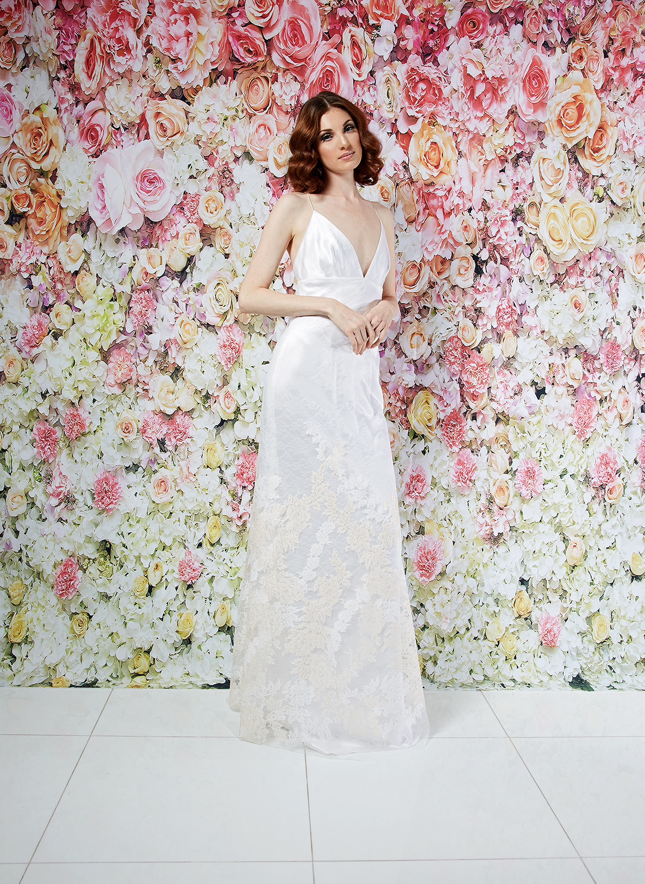 randi rahm wedding dress spring 2019 spaghetti-strap embroidered sheath