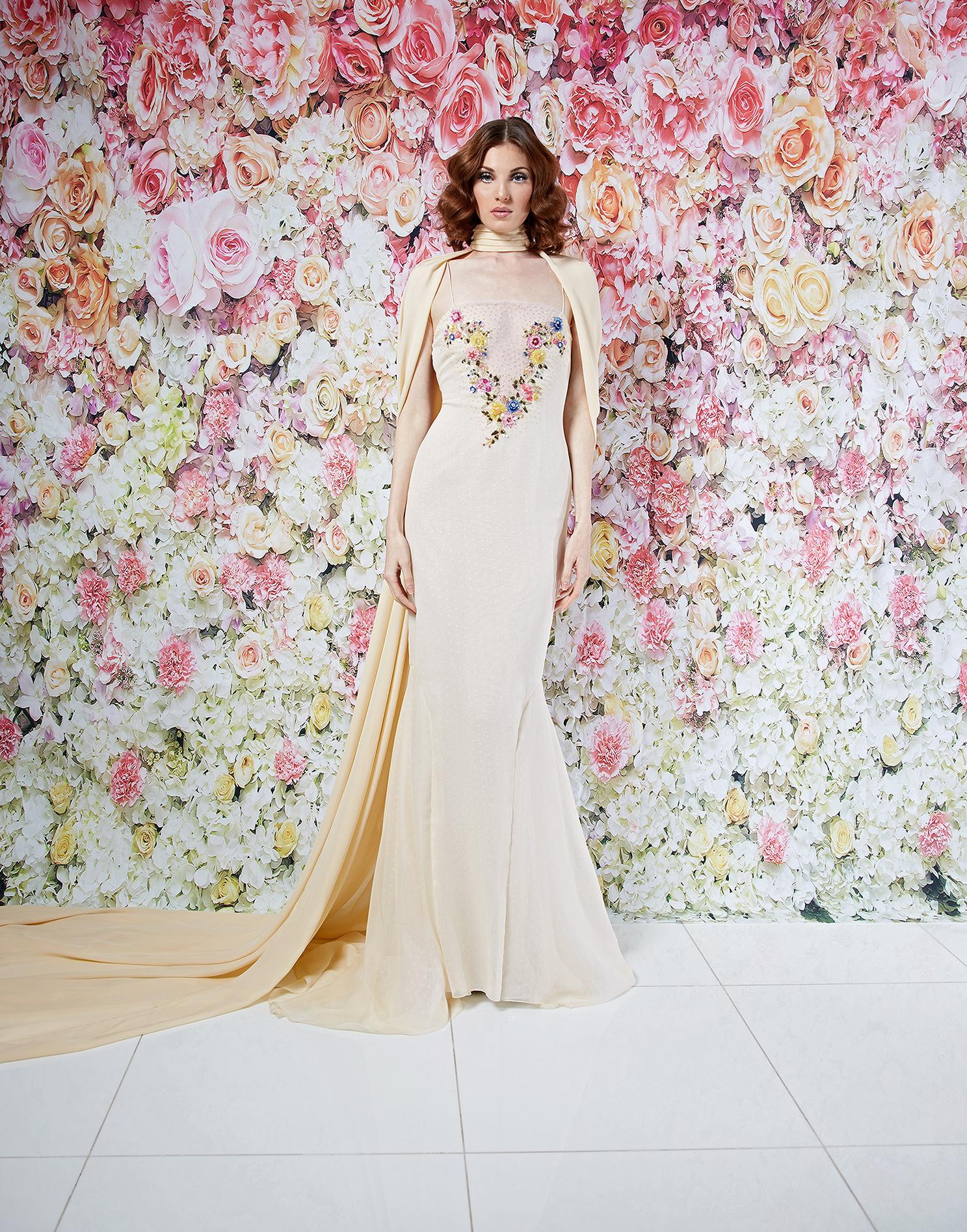 randi rahm wedding dress spring 2019 mermaid spaghetti-strap ties