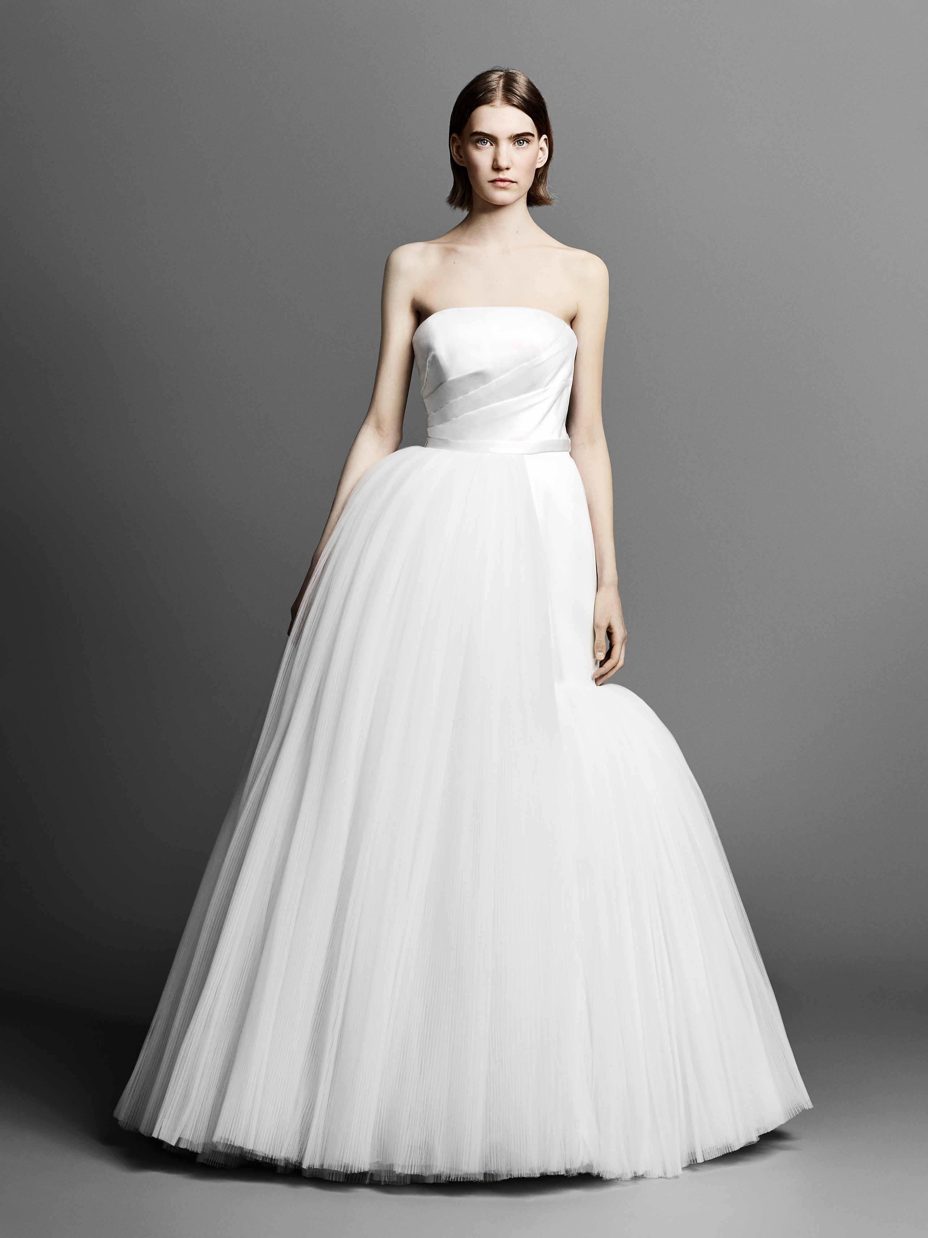 strapless viktor rolf ball gown wedding dress spring 2019