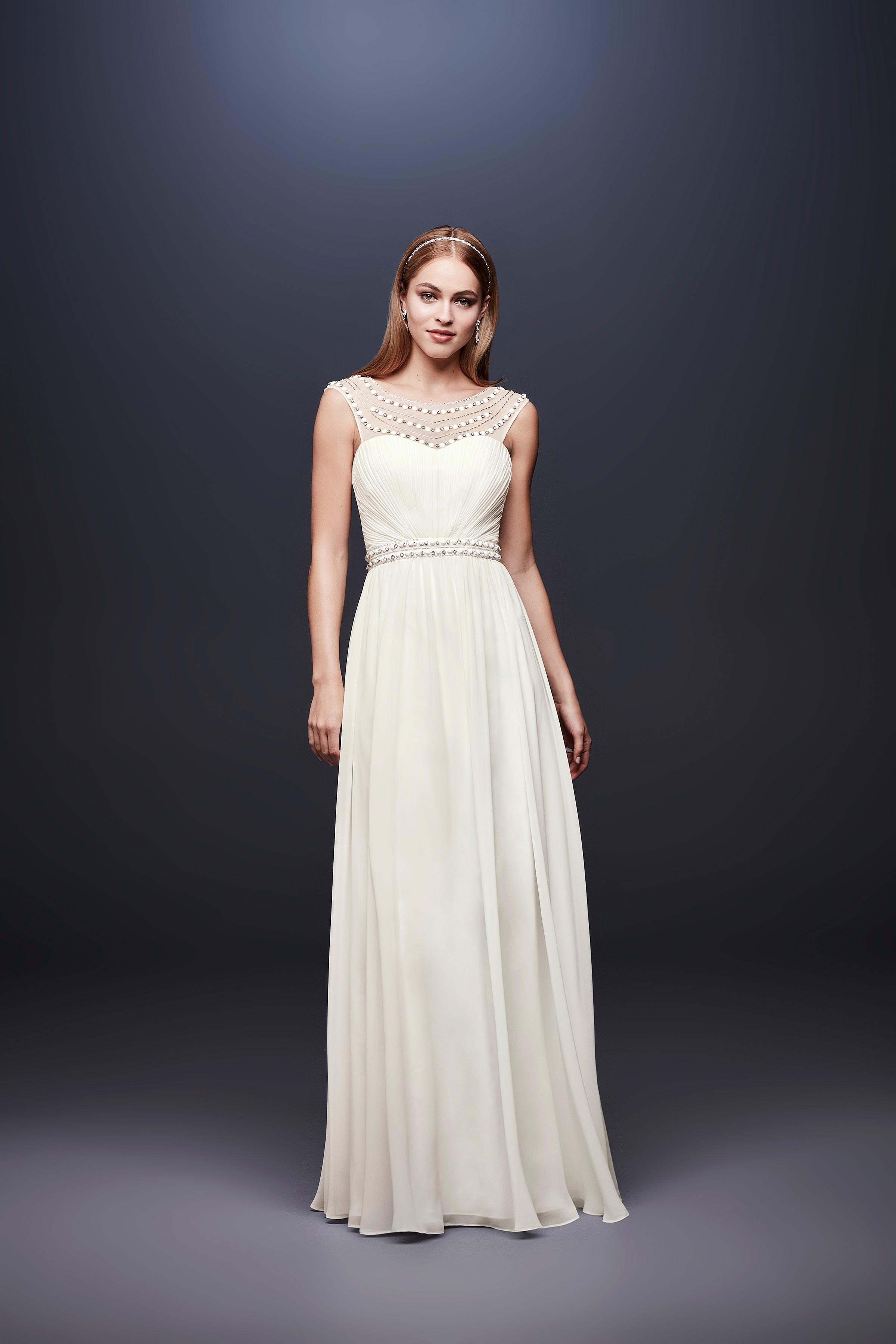 david bridal wedding dress spring 2019 sleeveless sweatheart a-line