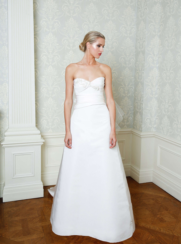 Cristina Ottaviano wedding dress spring 2019 sweetheart a-line gown