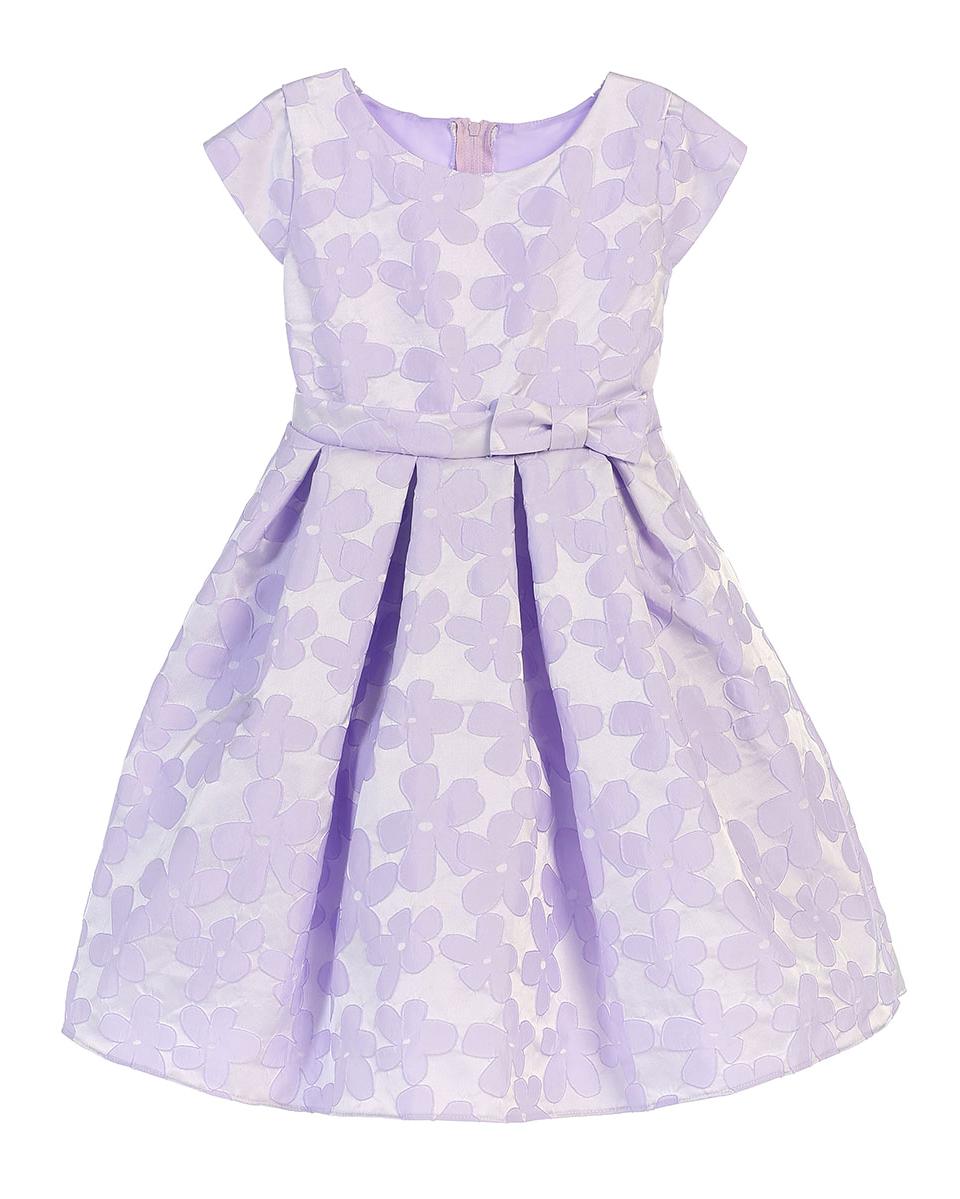 Pink Princess Raised Daisy Jacquard Dress