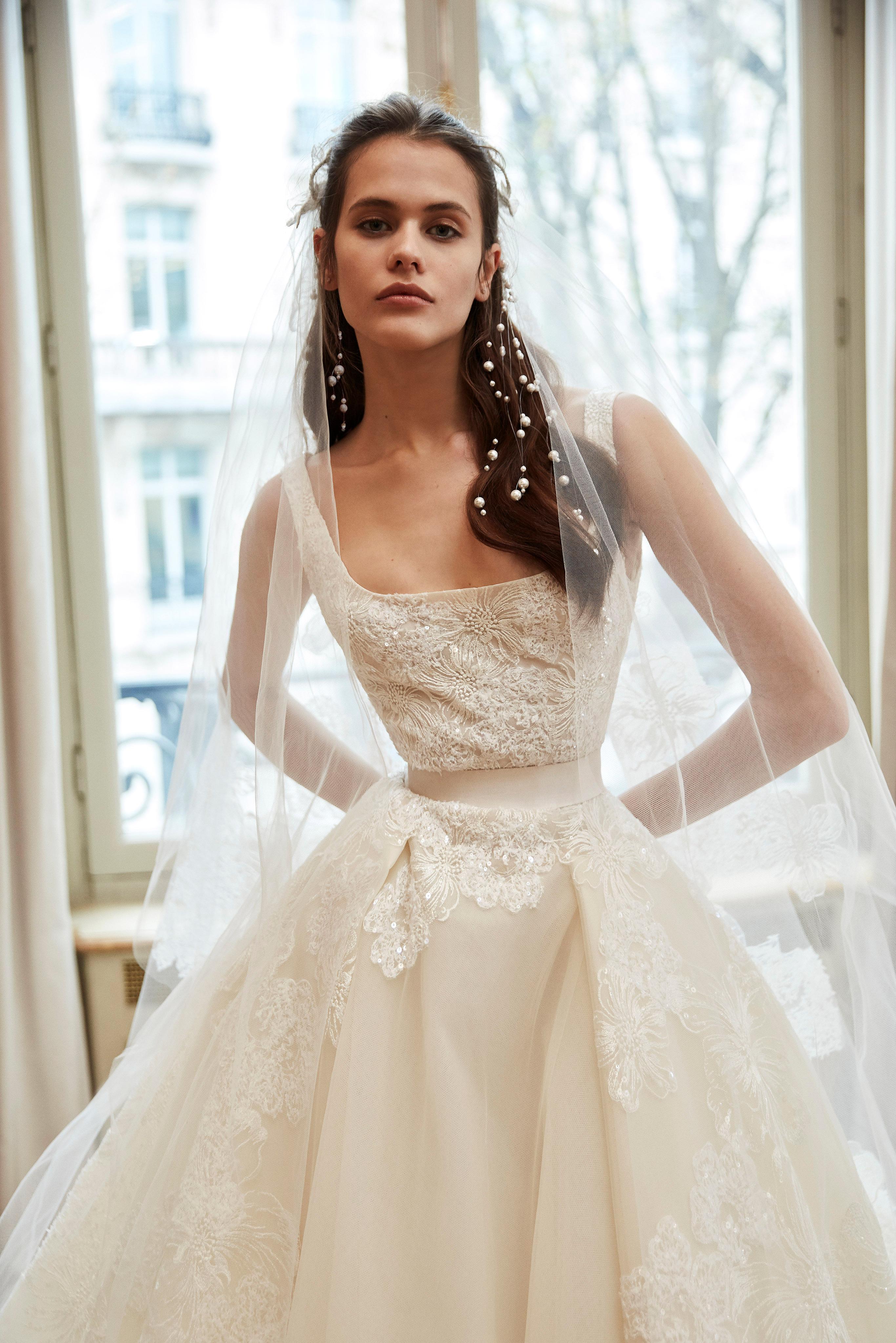 elie saab wedding dress spring 2019 sleeveless a-line embroidery