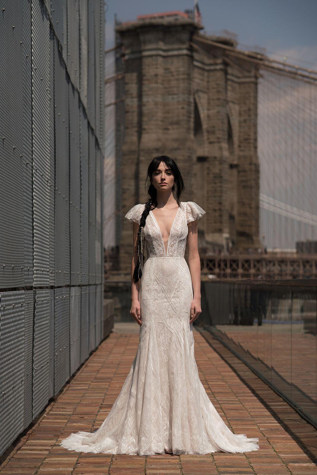 "alyne by rita vinieris ""harlow"" wedding dress spring 2019"