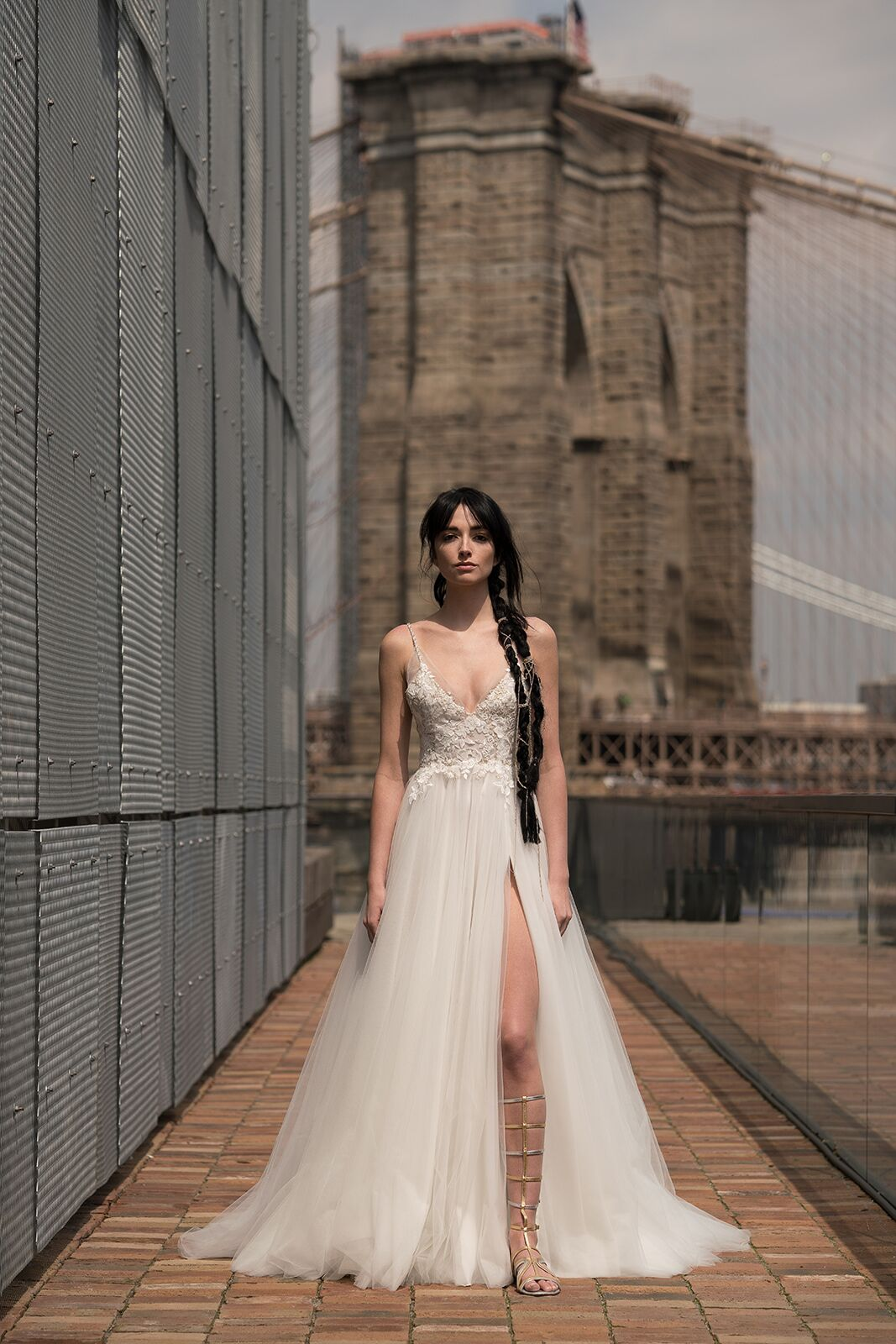 "alyne by rita vinieris ""golda"" wedding dress spring 2019"