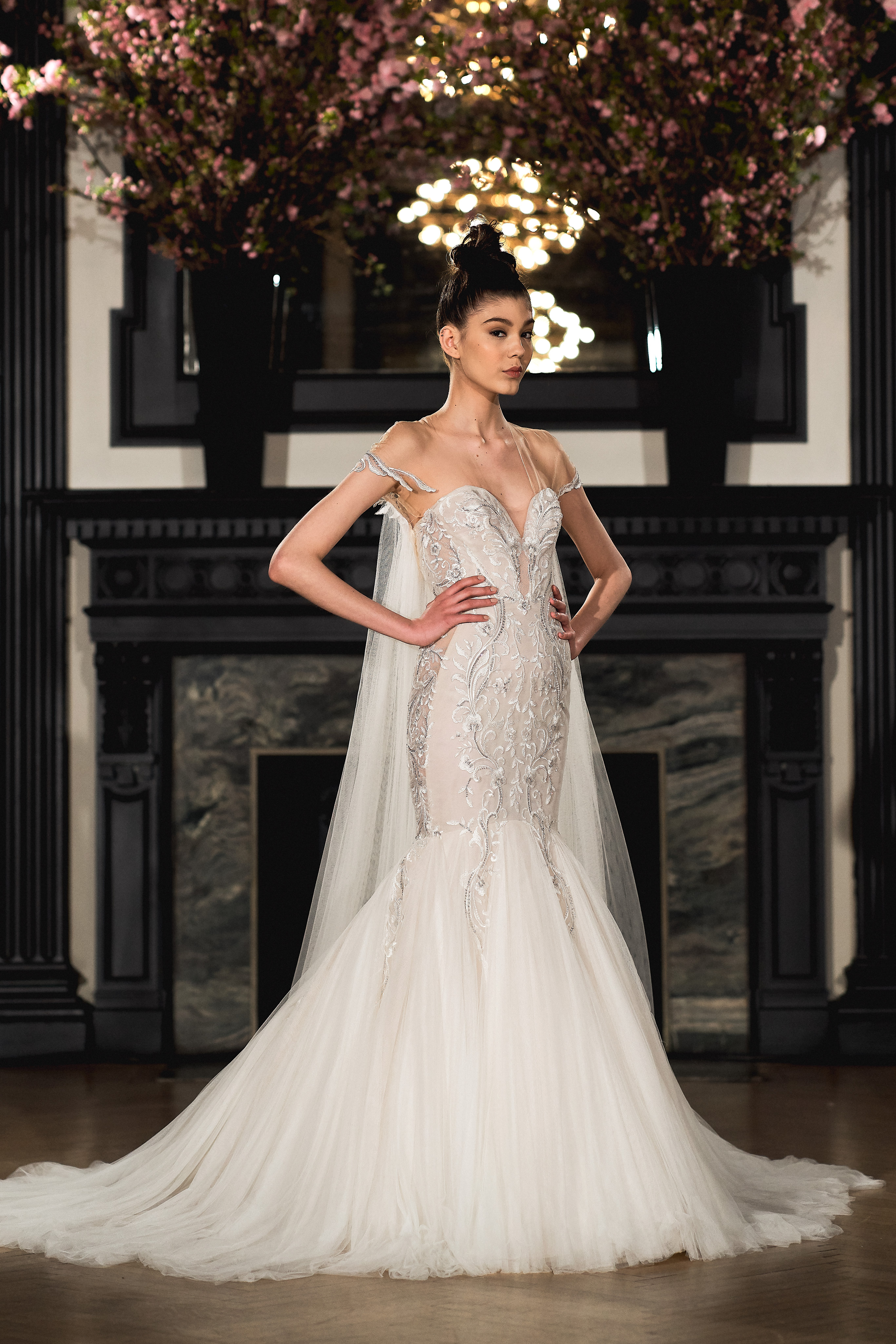 ines di santo wedding dress spring 2019 trumpet sweetheart