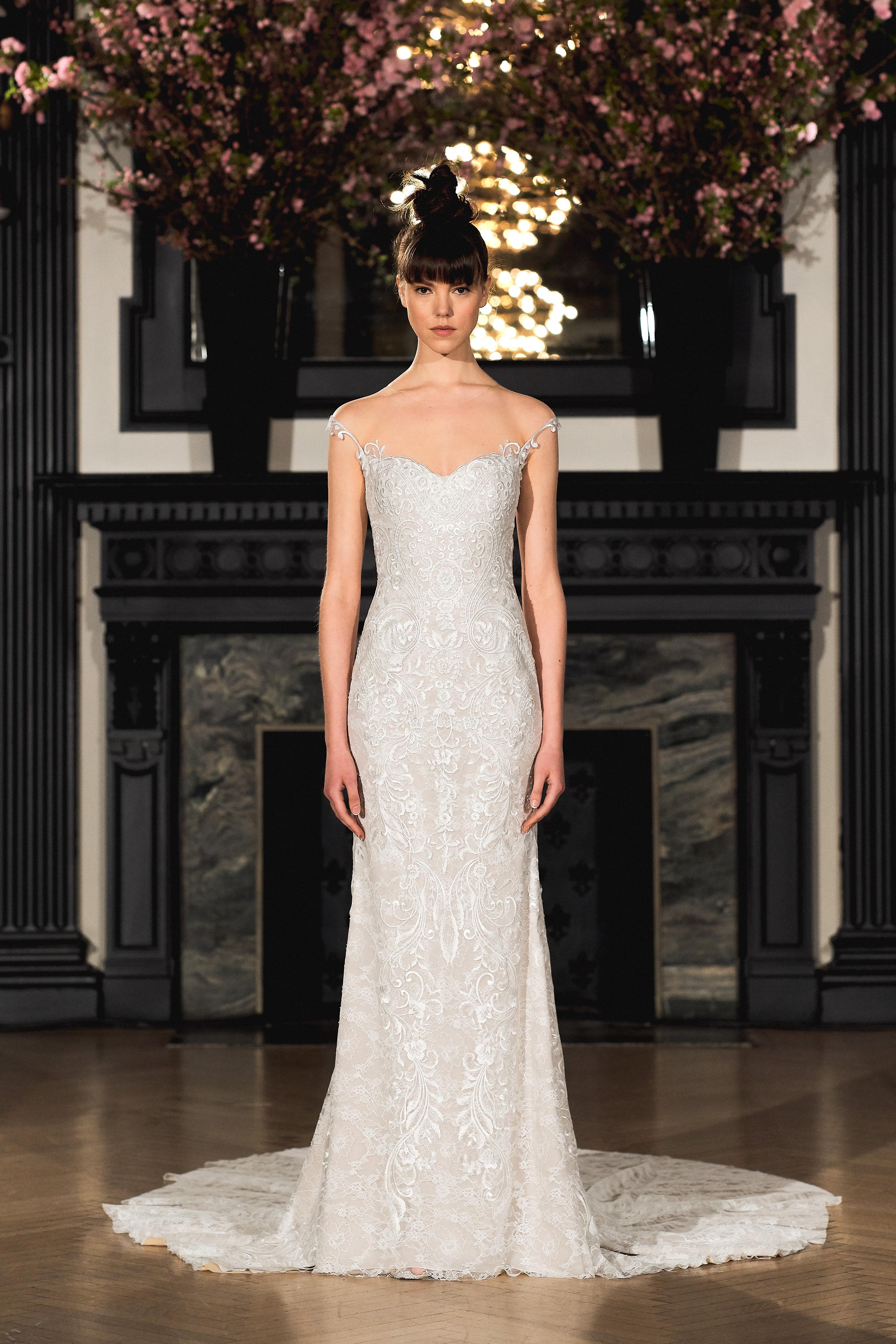 ines di santo wedding dress spring 2019 sweetheart sheath