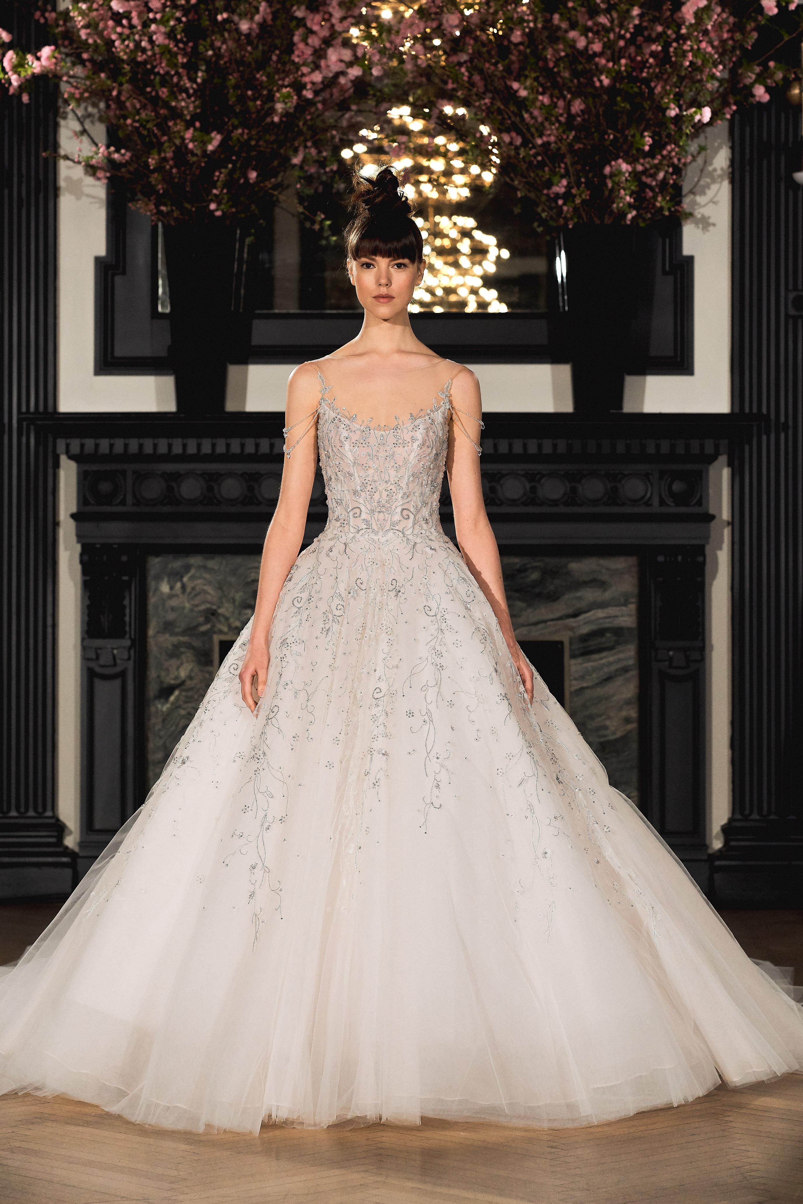 ines di santo wedding dress spring 2019 beaded a-line