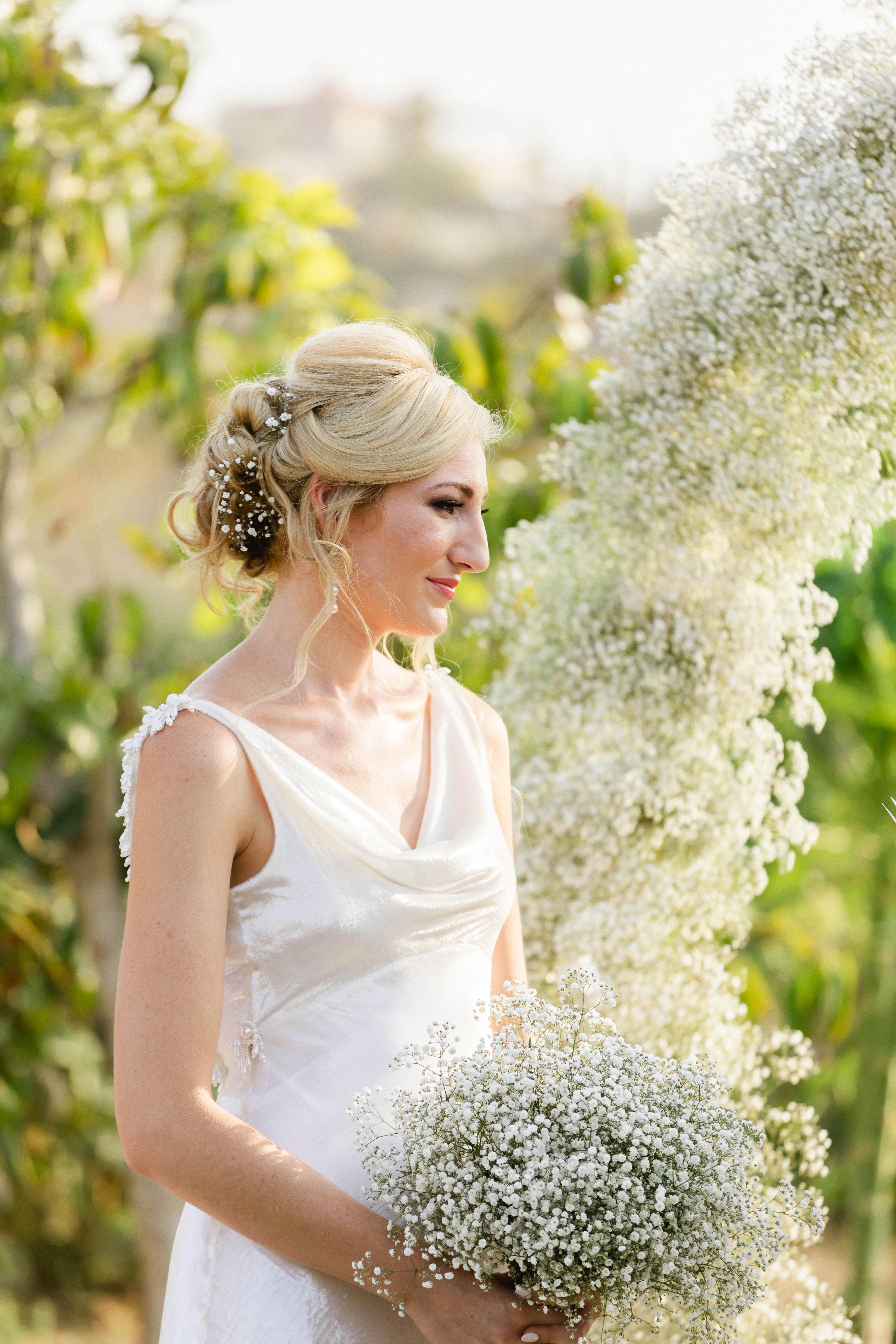 brittany craig wedding updo
