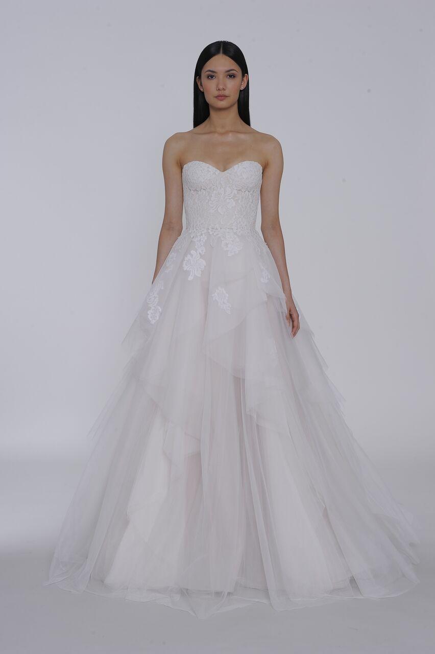 allison webb wedding dress spring 2019 tulle strapless