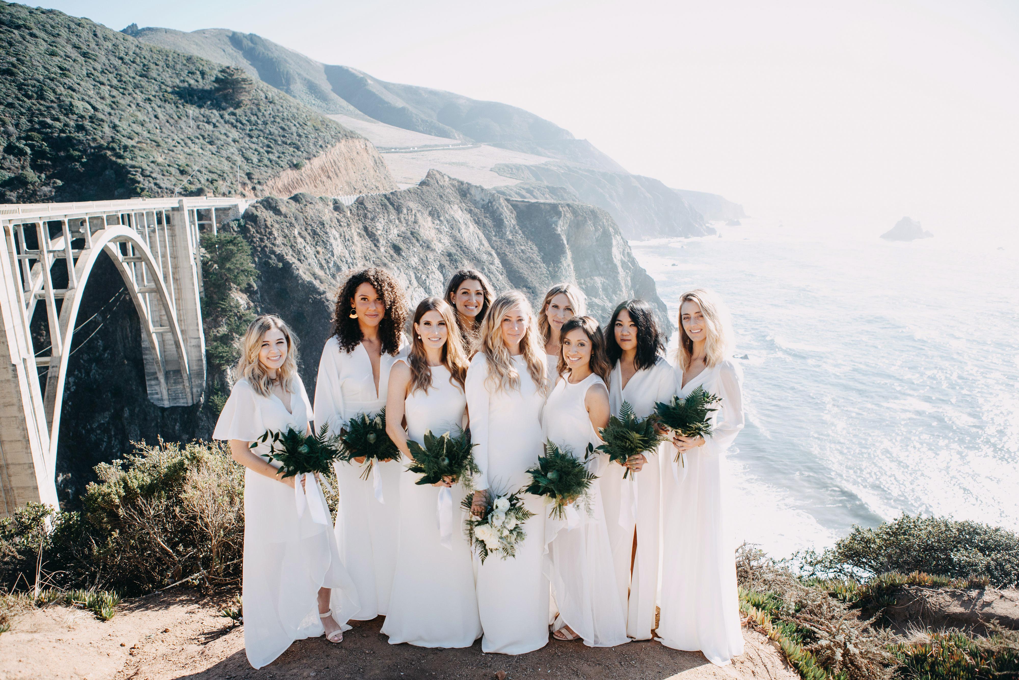 danielle adam wedding bridesmaids