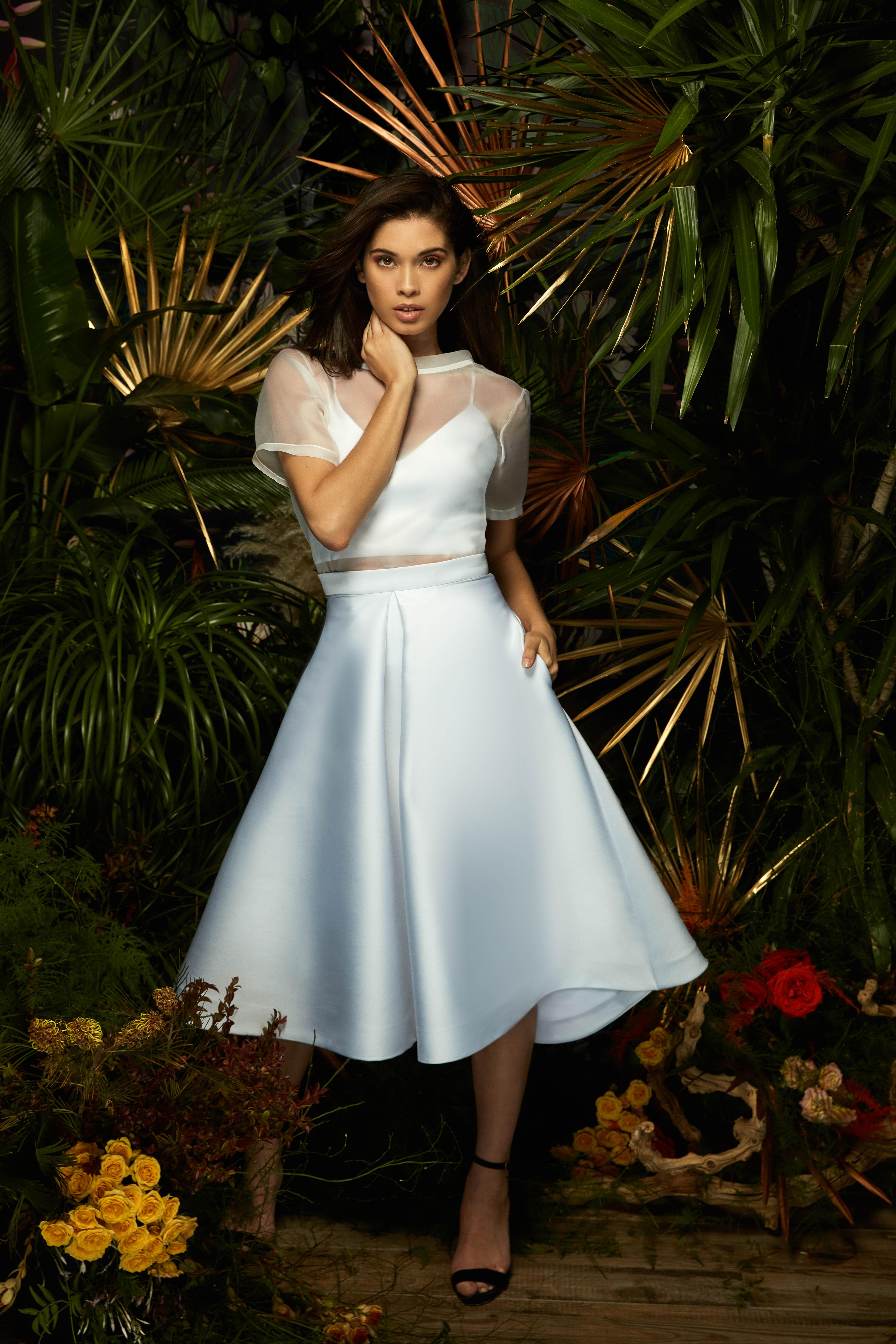 lakum wedding dress spring 2019 separates skirt