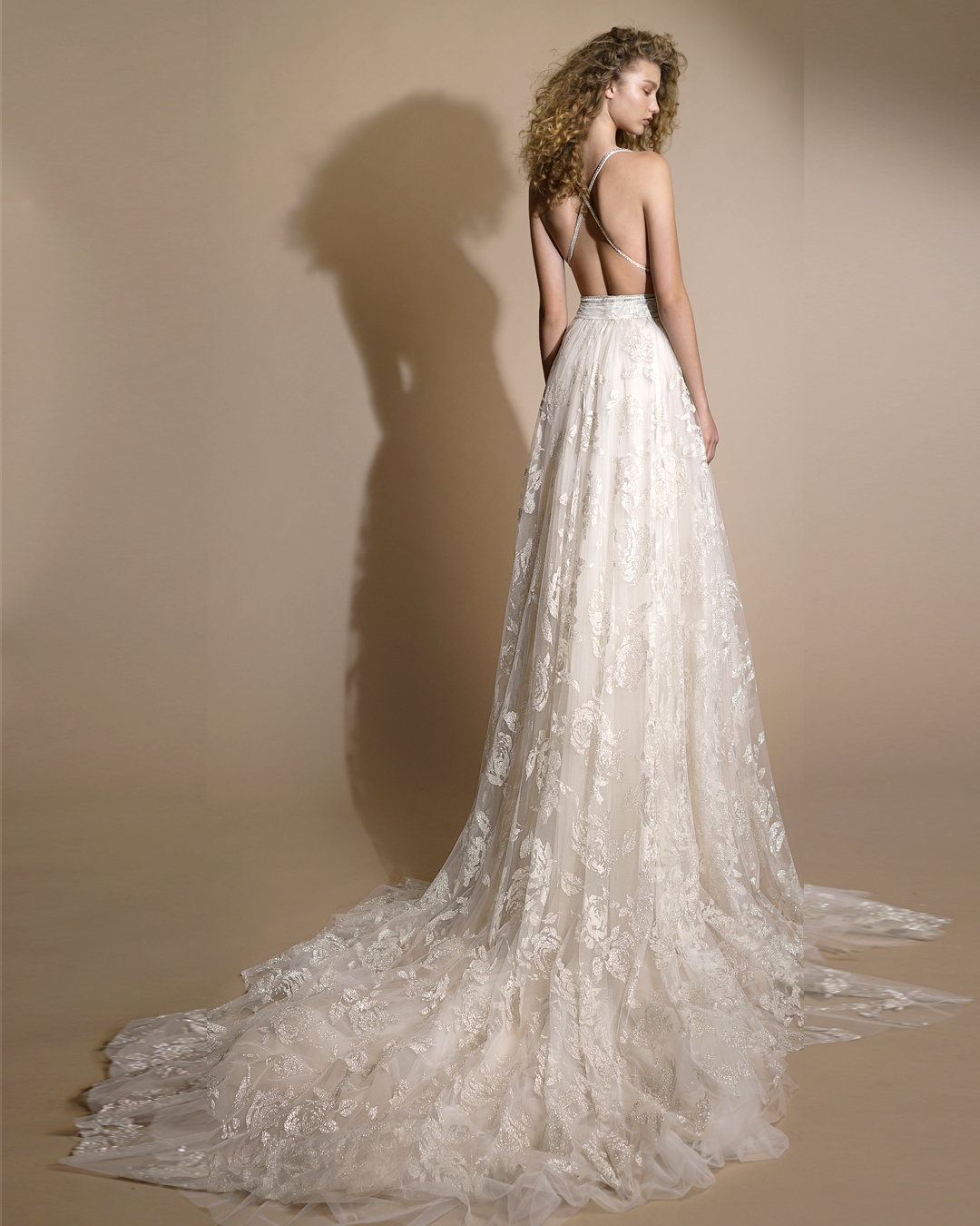galia lahav gala wedding dress spring 2019 lace spaghetti strap a-line
