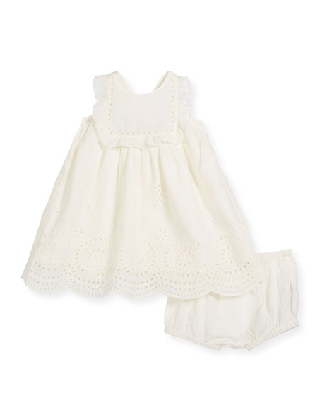 Stella McCartney Kids Sleeveless Flower Girl Dress