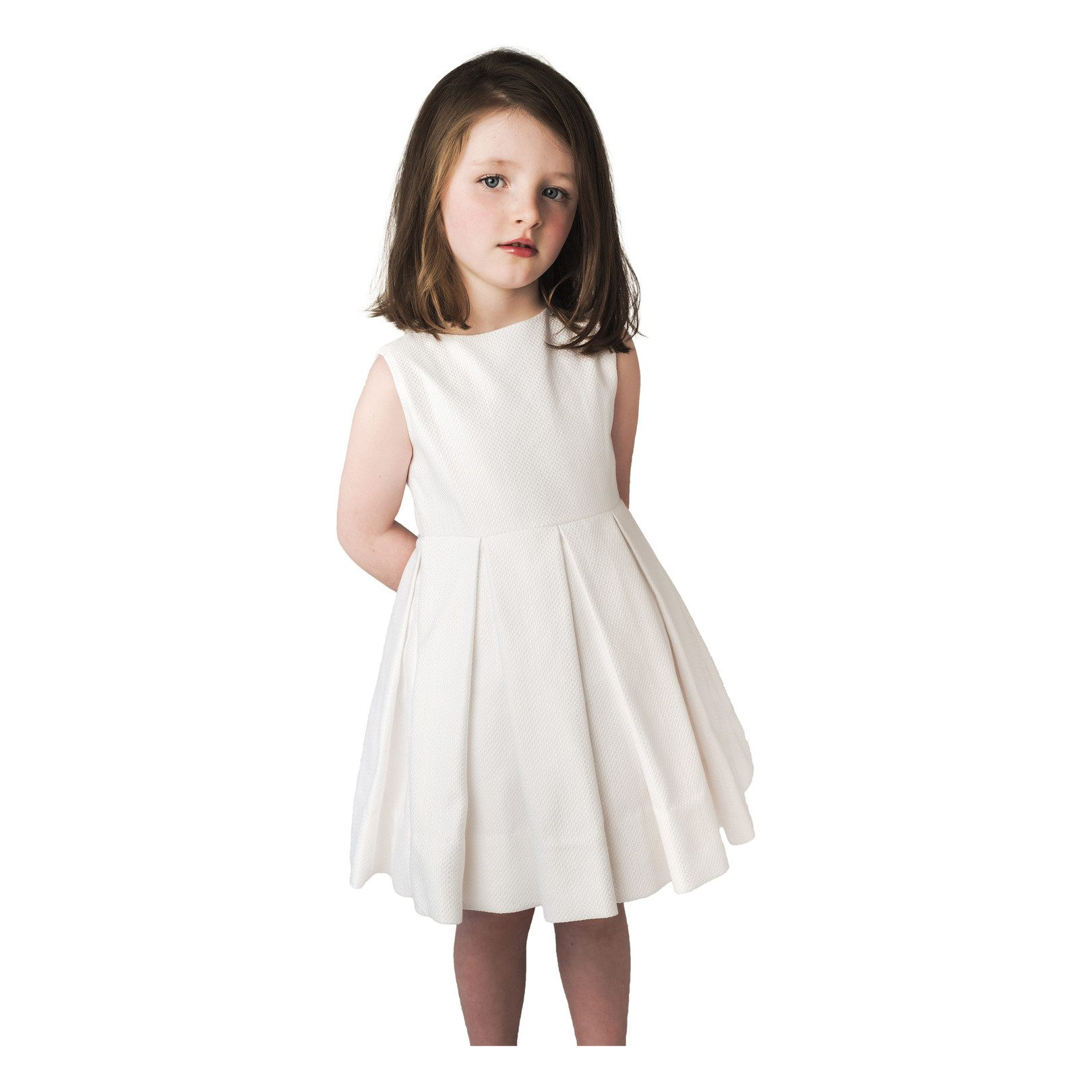 The Lacemakers by Los Encajeros Sleeveless Flower Girl Dress