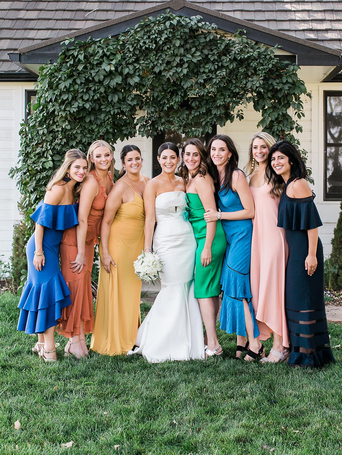 jamie jon wedding bride with friends