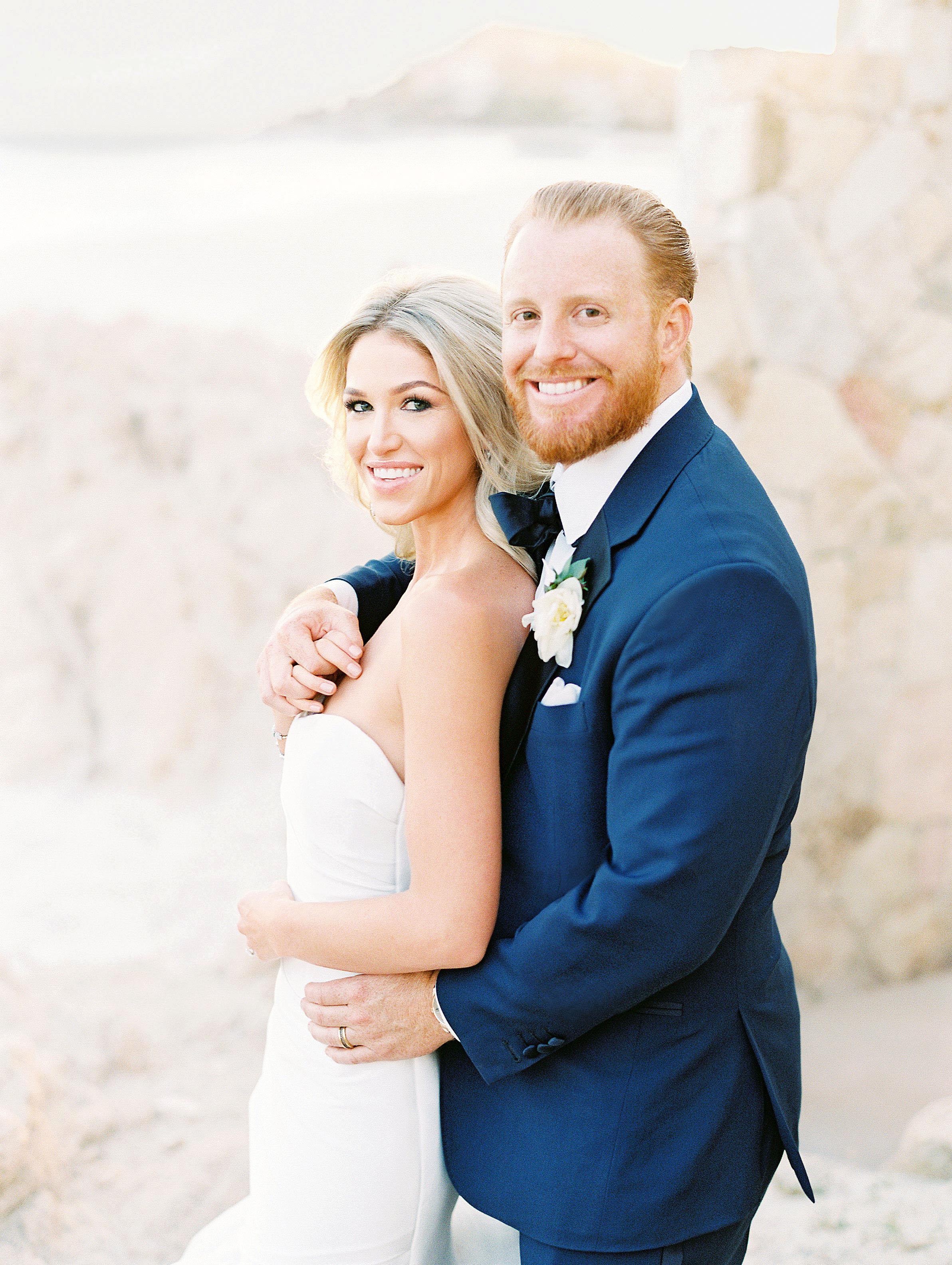 kourtney justin wedding mexico couple close up