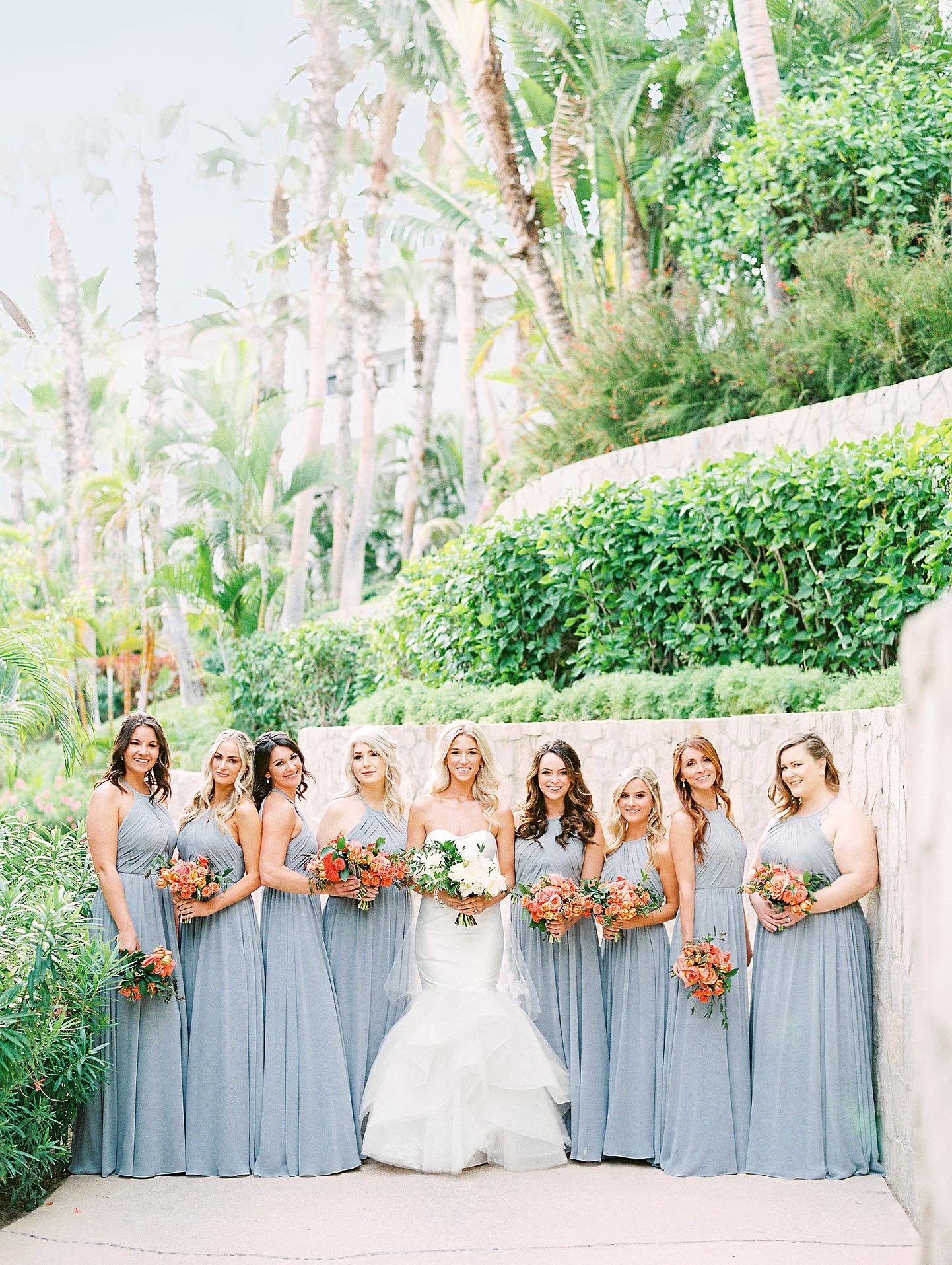 kourtney justin wedding mexico bridesmaids