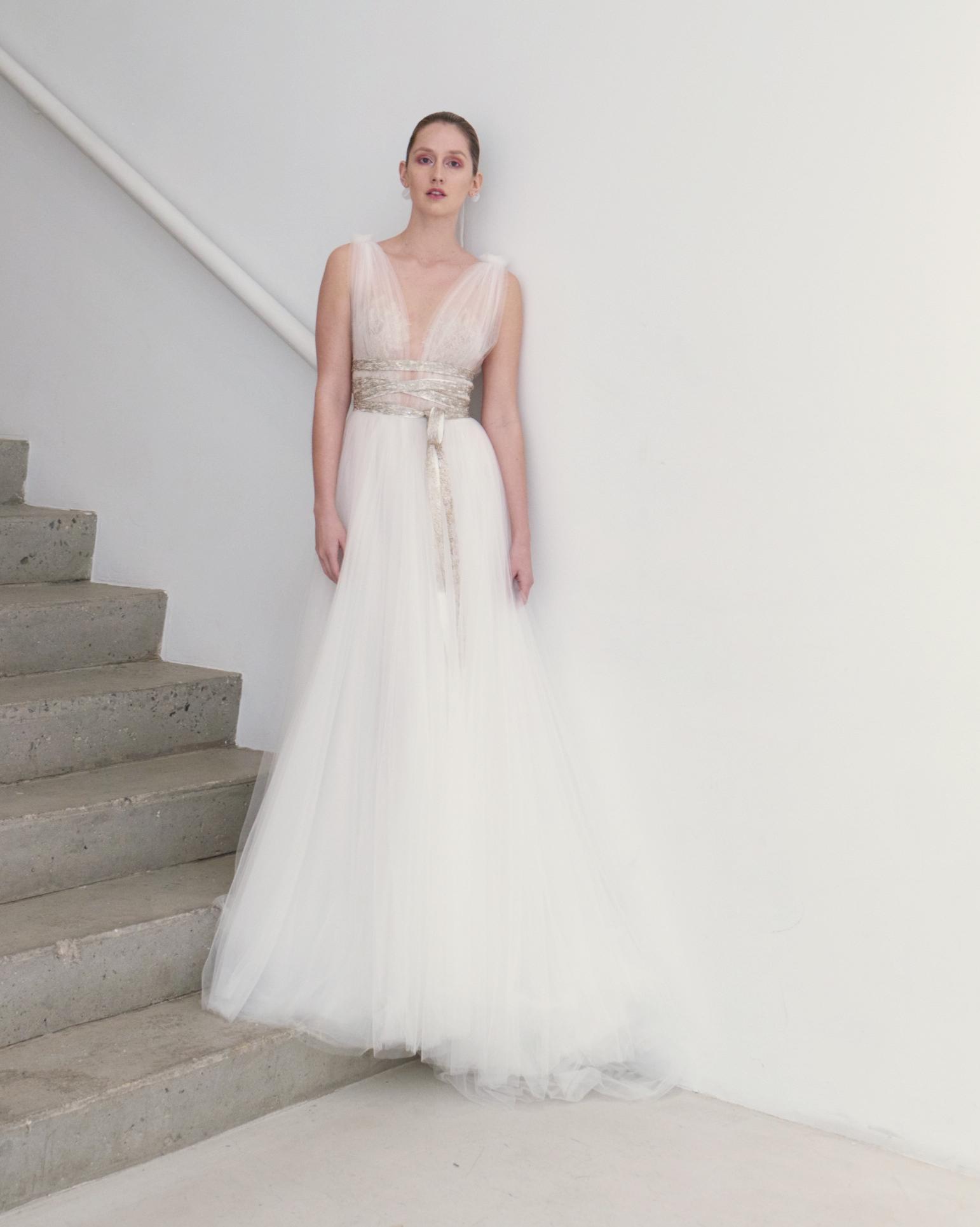 francesca miranda wedding dress spring 2019 tulle a-line