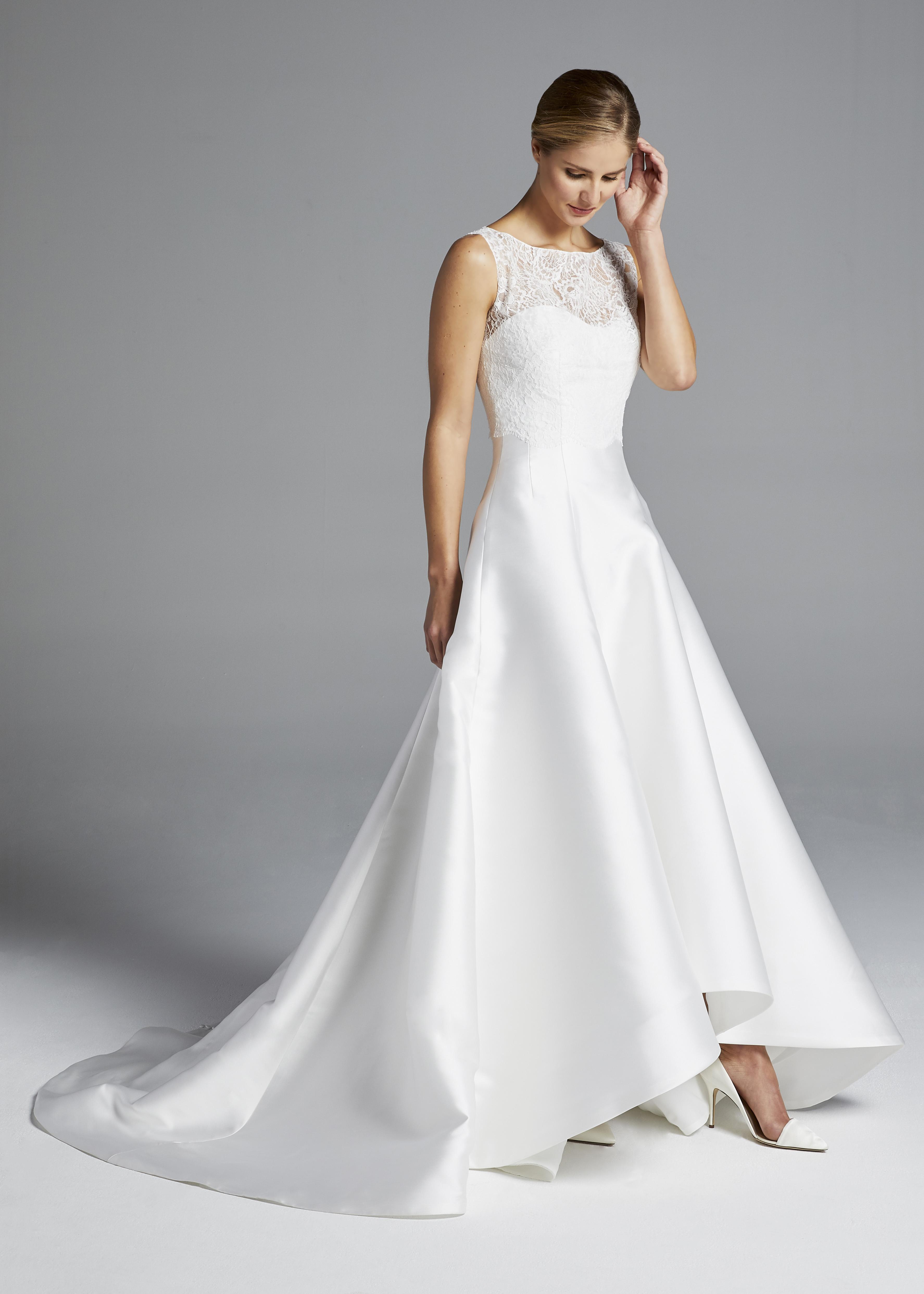 anne barge lace bateau wedding dress spring 2019