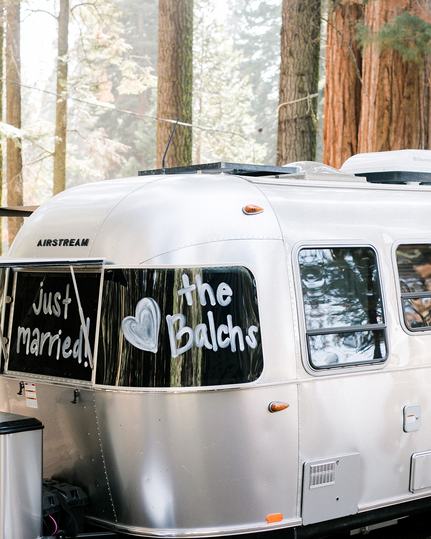 kelly kelsey wedding airstream trailer