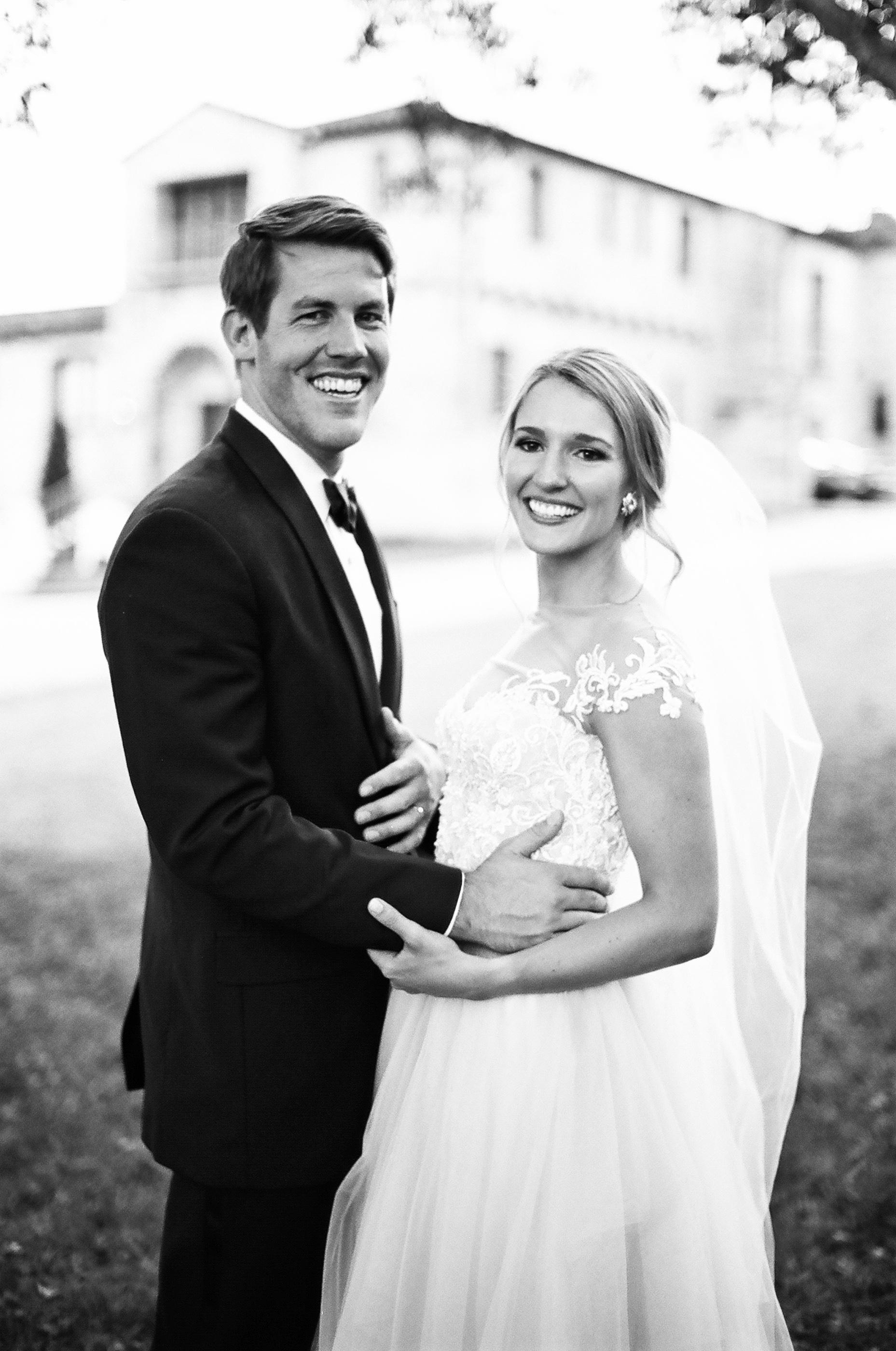 jessika william wedding couple side by side