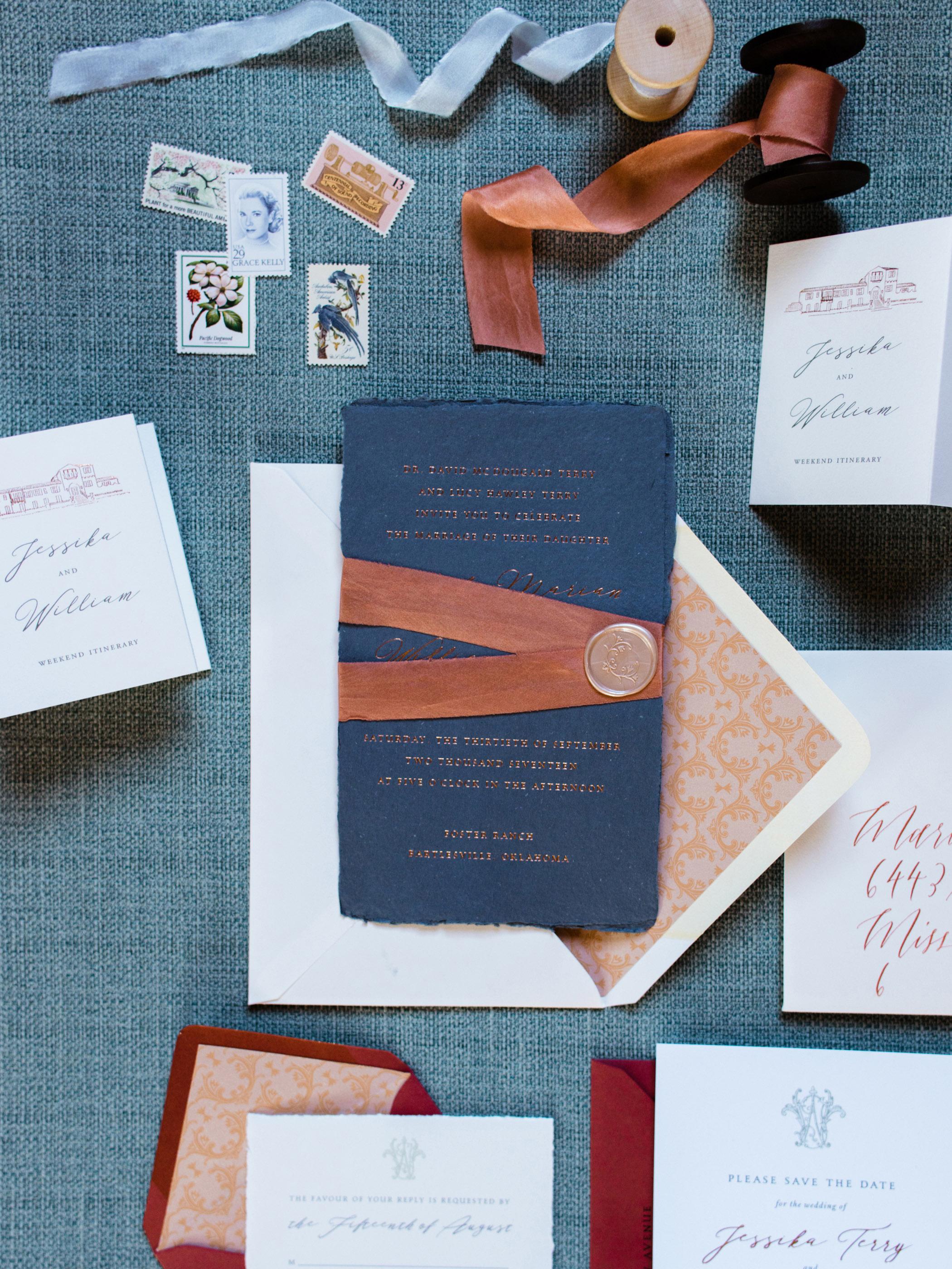 jessika william wedding invitations