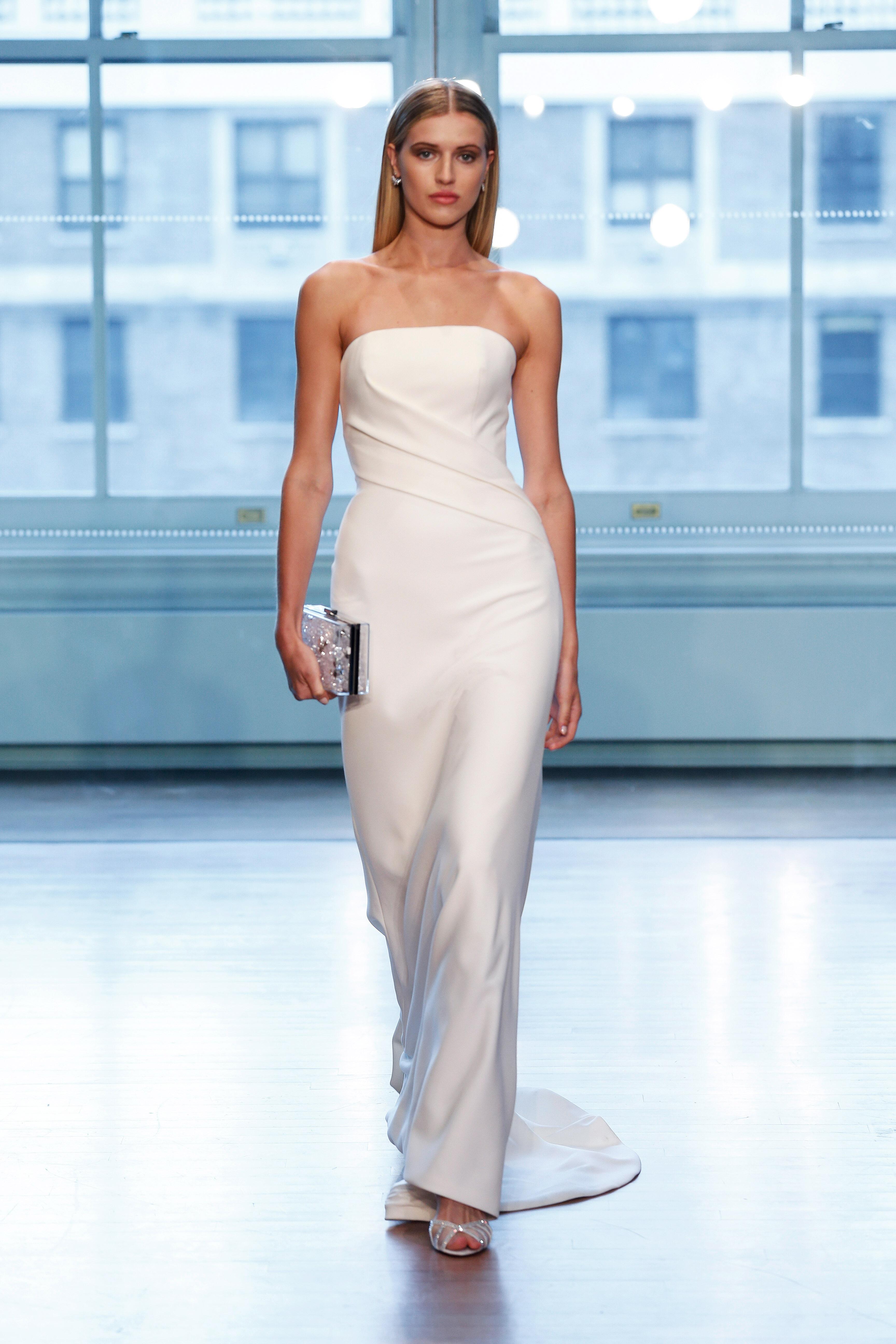 justin alexander wedding dress spring 2019 strapless column
