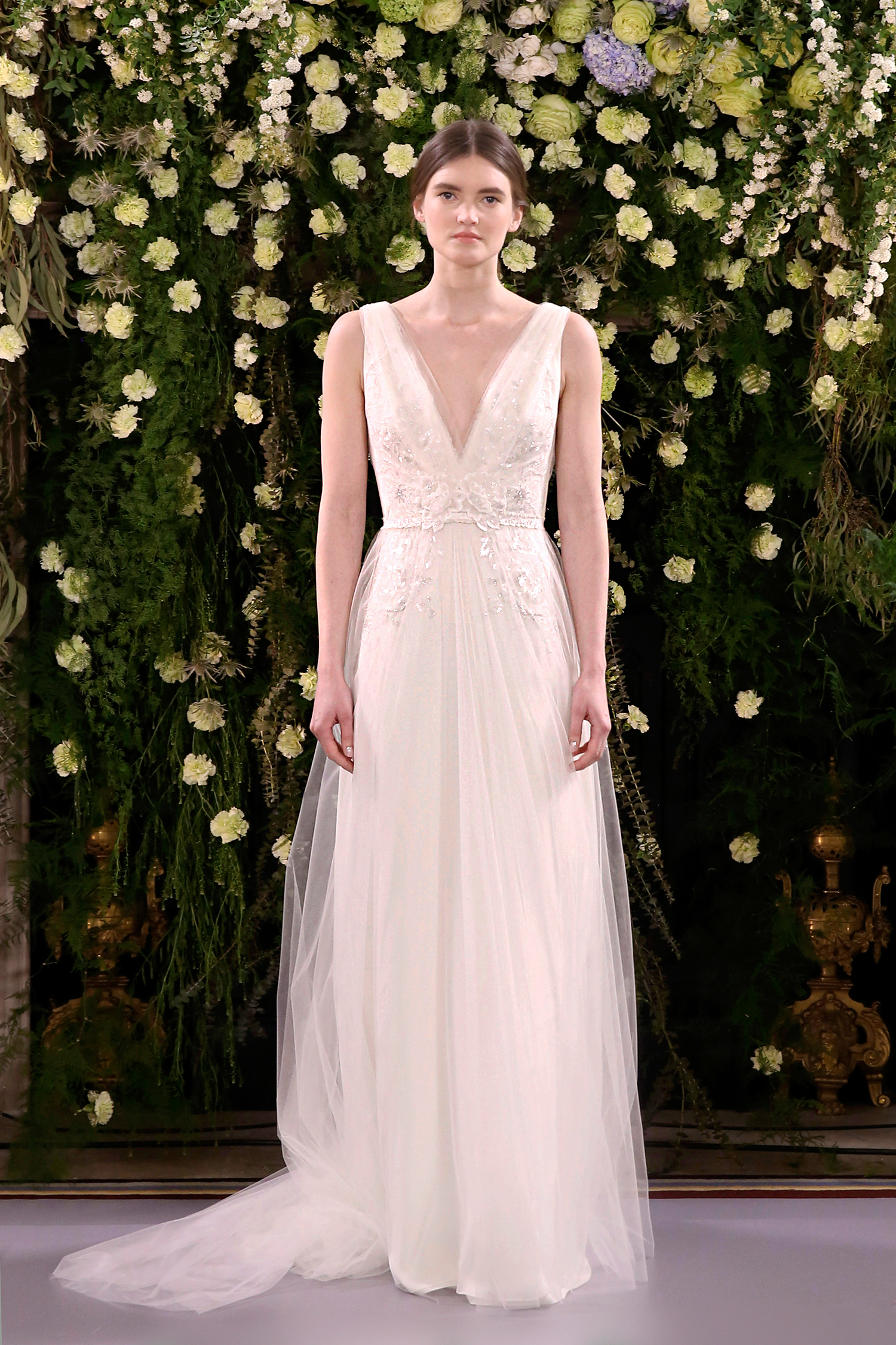 adfb249b42a93 Jenny Packham Spring 2019 Wedding Dress Collection | Martha Stewart ...