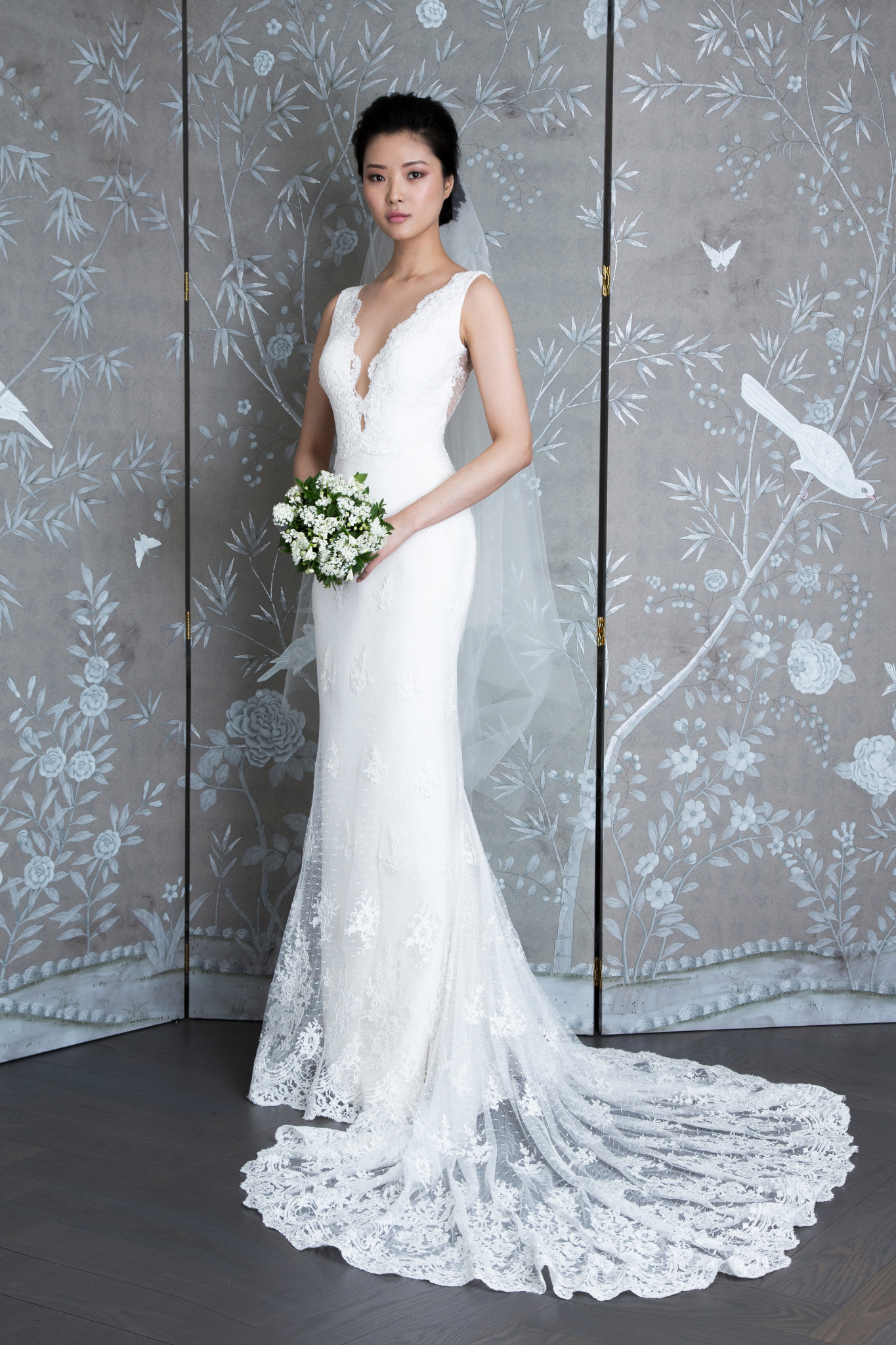 "legends romona keveza ""L9132"" wedding dress spring 2019"