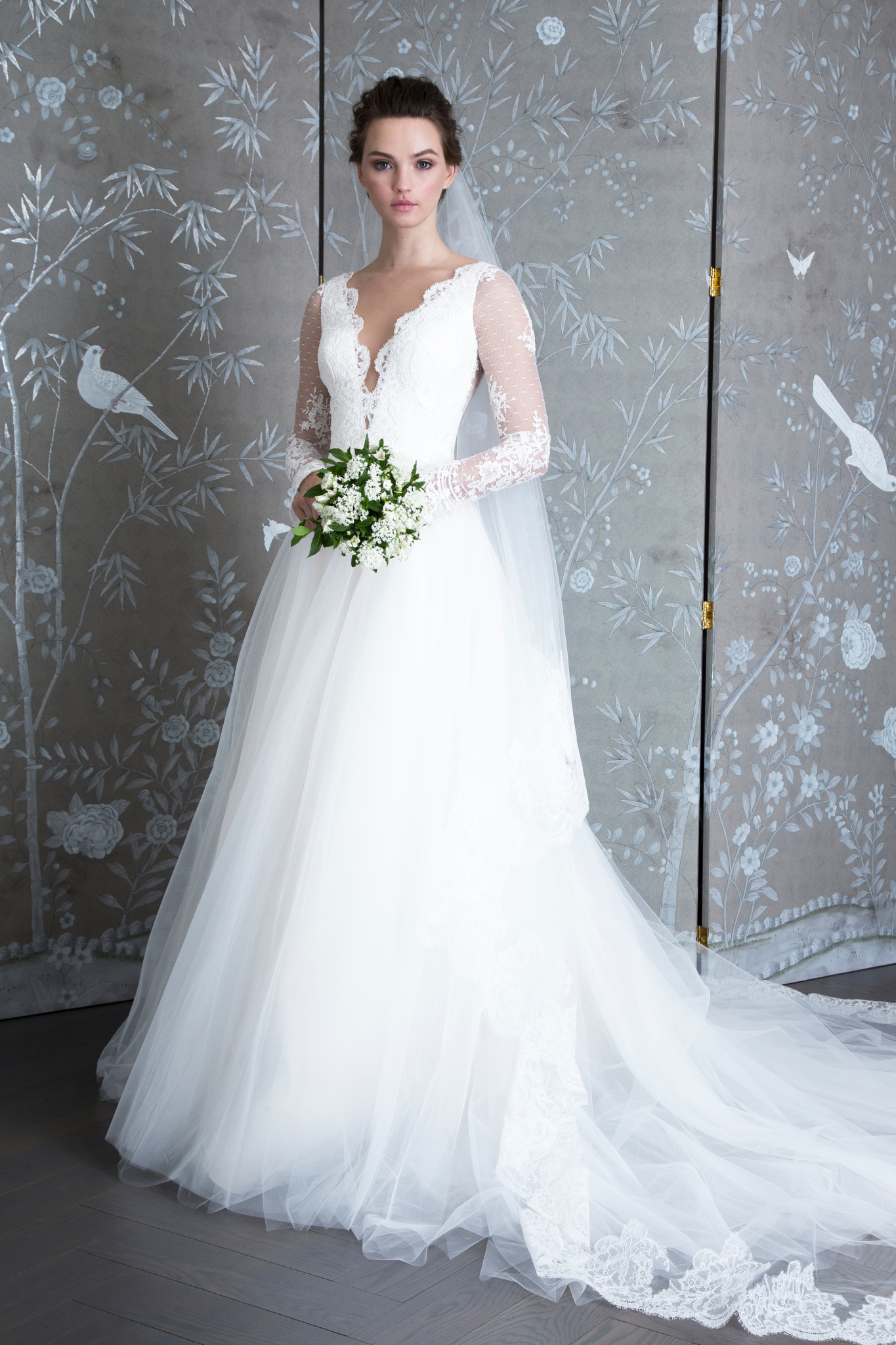 "legends romona keveza ""L9133"" wedding dress spring 2019"