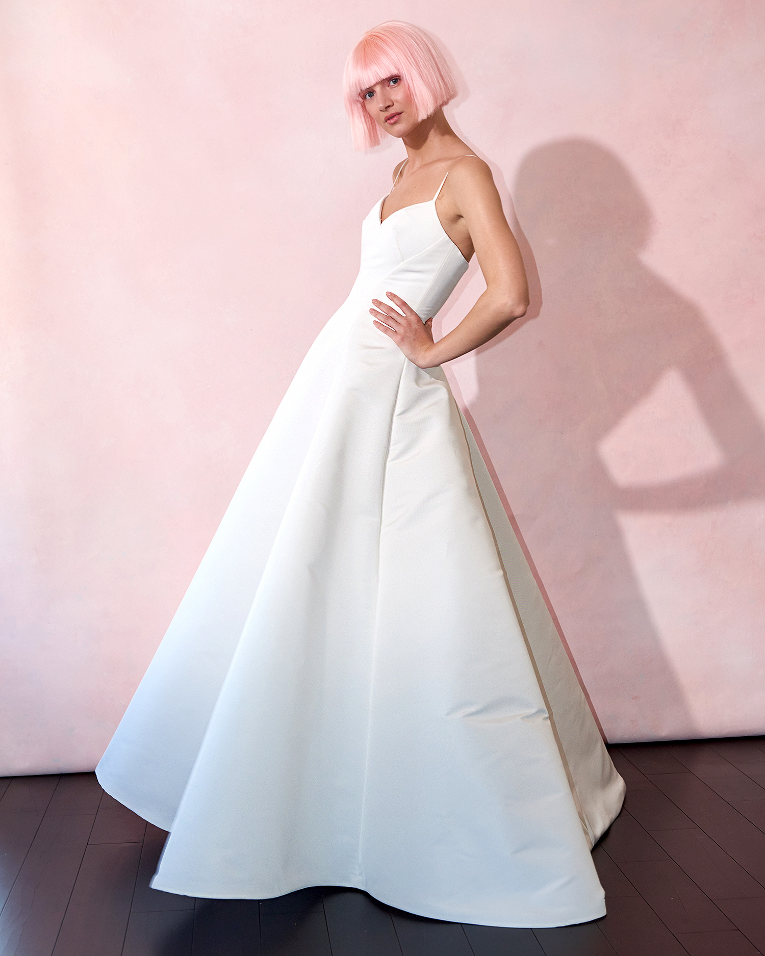 isabelle armstrong wedding dress spring 2019 sweetheart spaghetti-strap a-line
