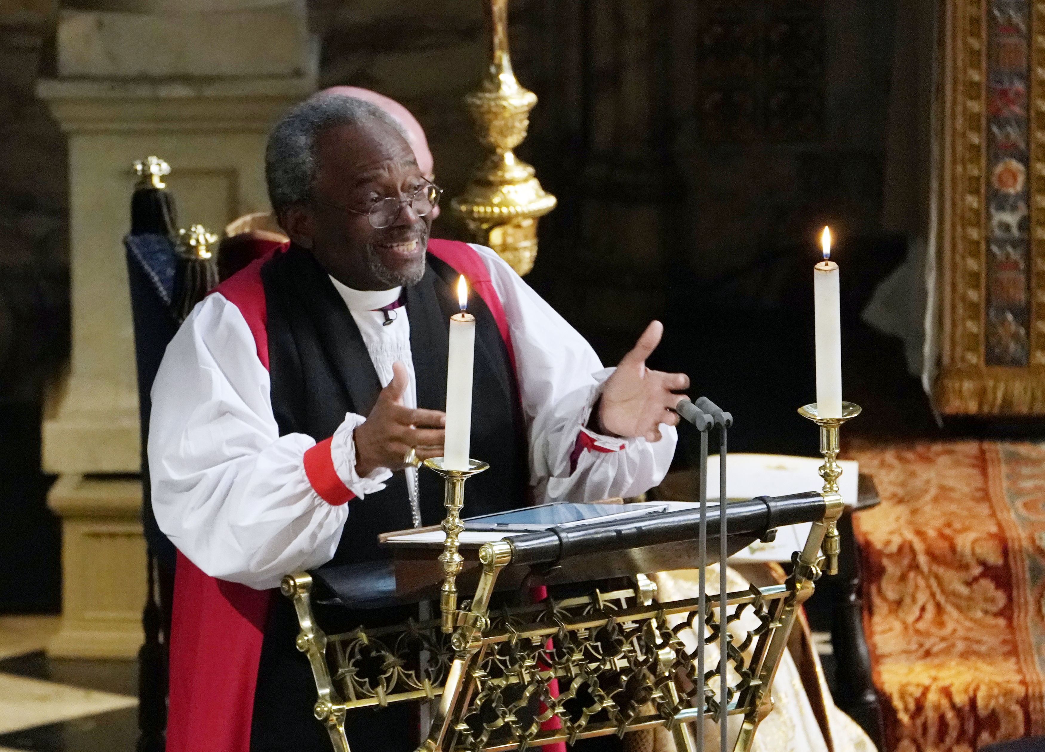Bishop Michael Curry at Royal Wedding 2018