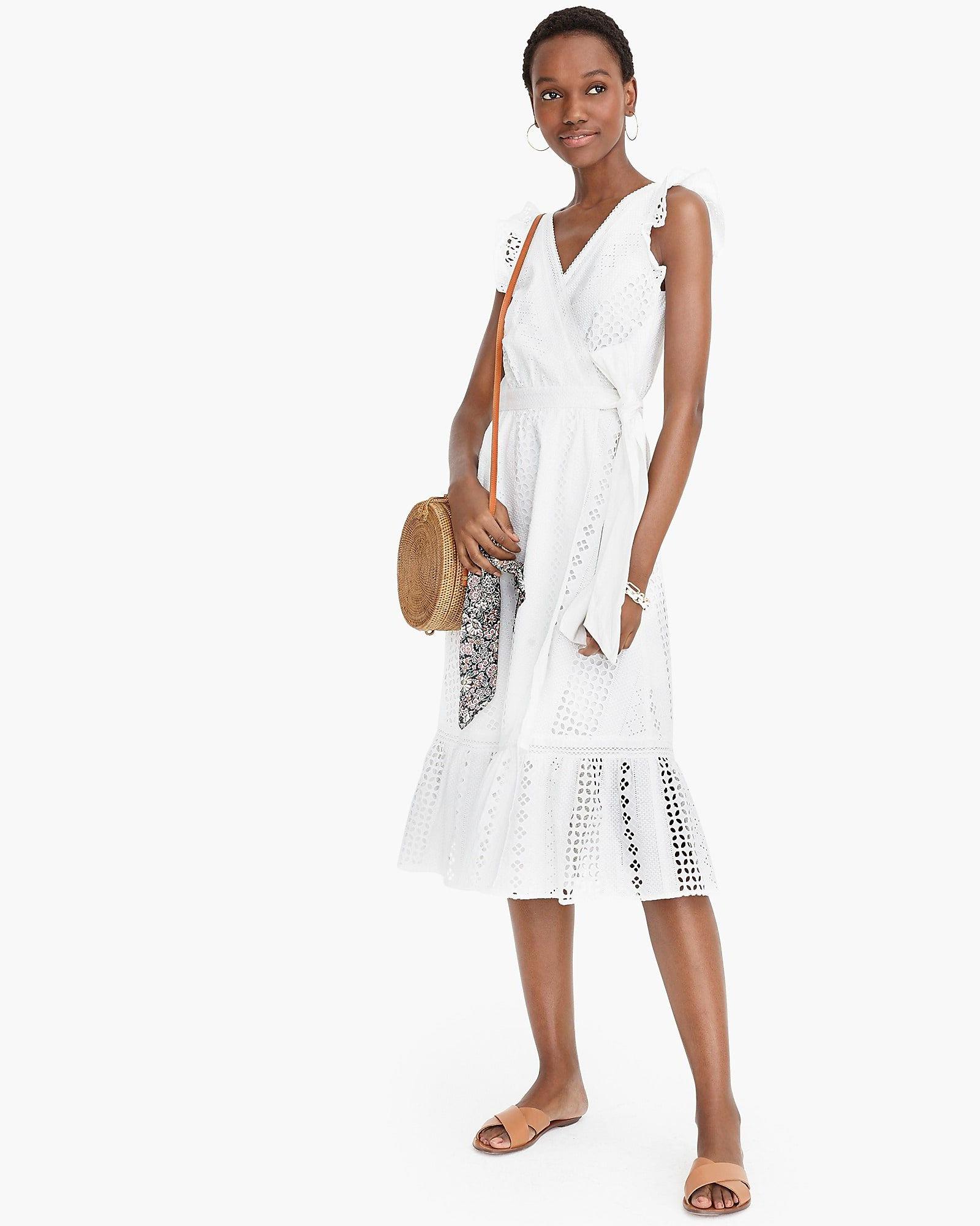 J. Crew Midi Wrap Dress