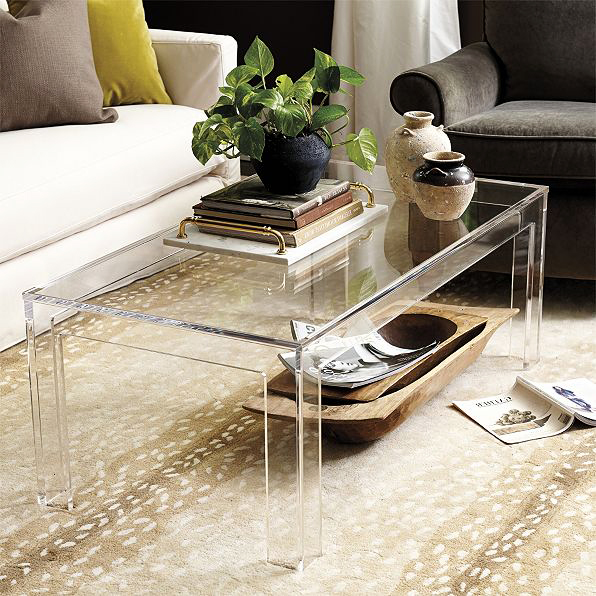 furniture anniversary gift acrylic coffee table