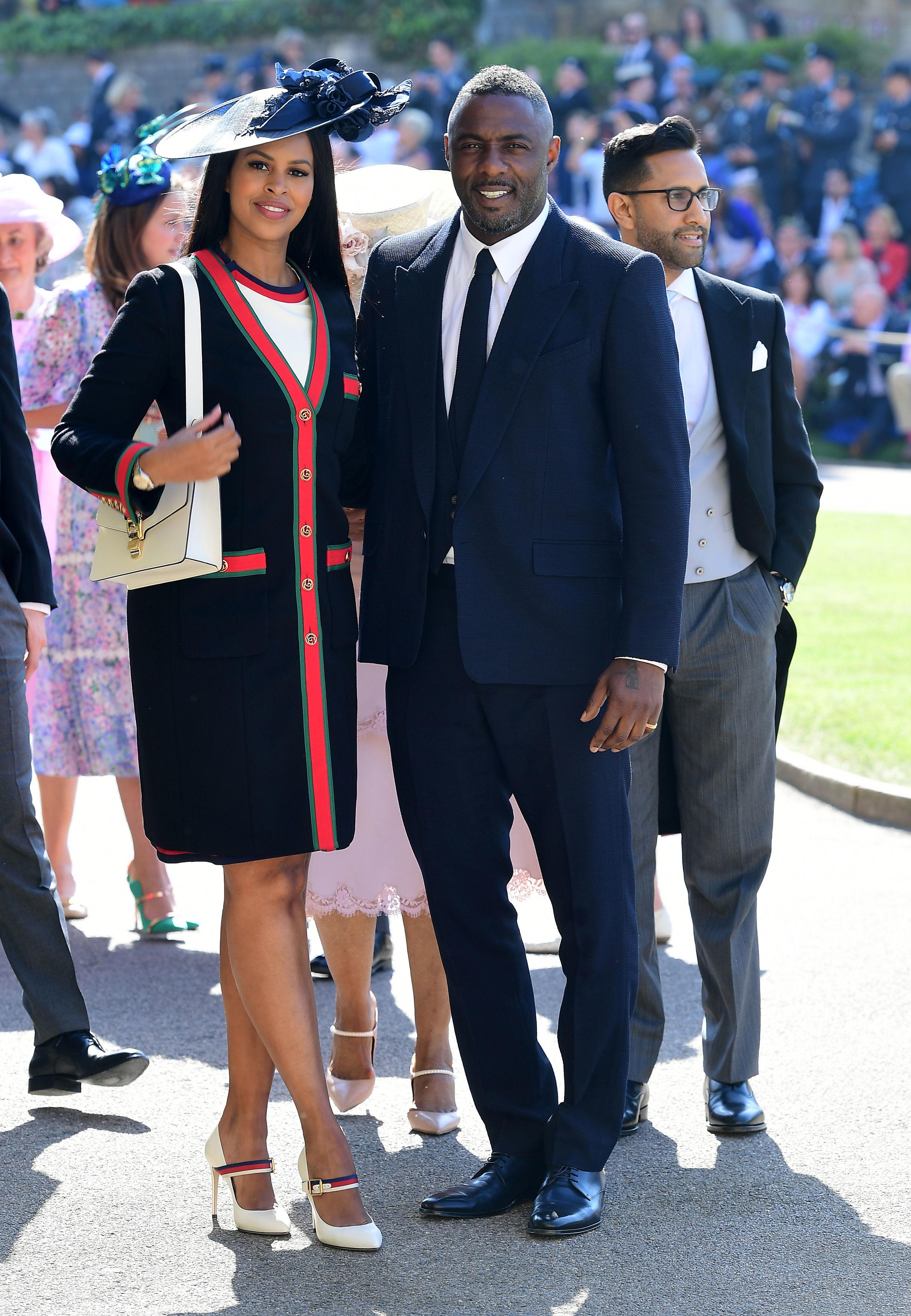 Idris Elba and Sabrina Dhowre royal wedding 2018