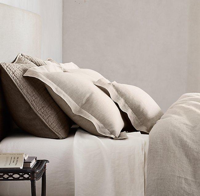 Linen Wedding Anniversary Gifts, Restoration Hardware Bedding