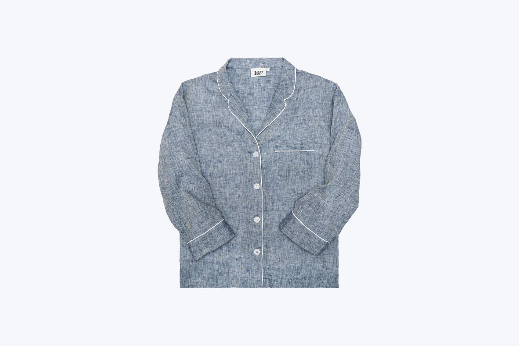 Linen Wedding Anniversary Gifts, Sleepy Jones Pajama Shirt