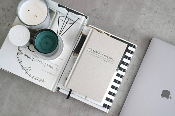 Linen Wedding Anniversary Gifts, Gratitude Journal