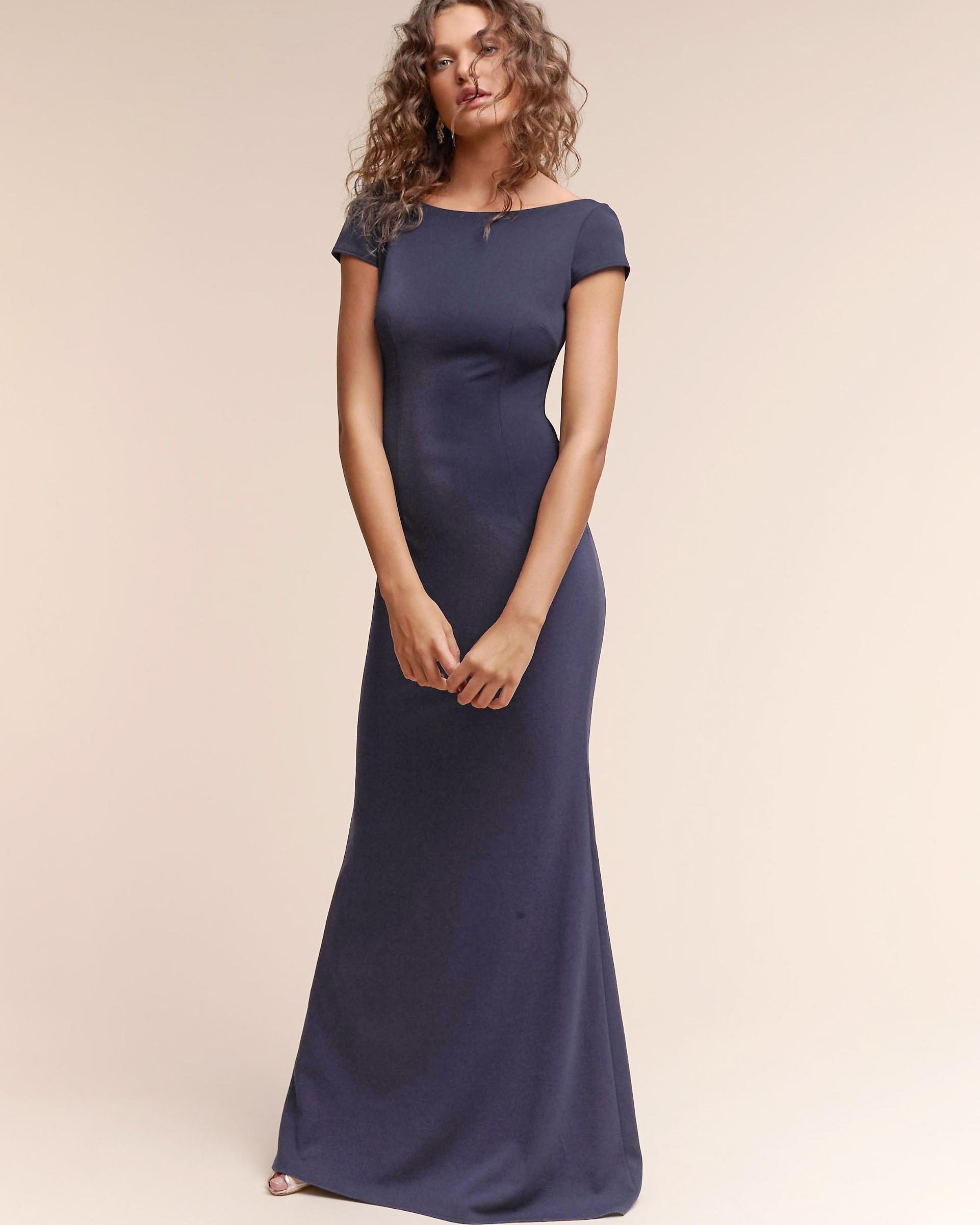 "Katie May ""Madison"" Cap-Sleeve Dress"