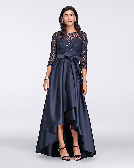 Ignite High-Low Lace Ball Gown