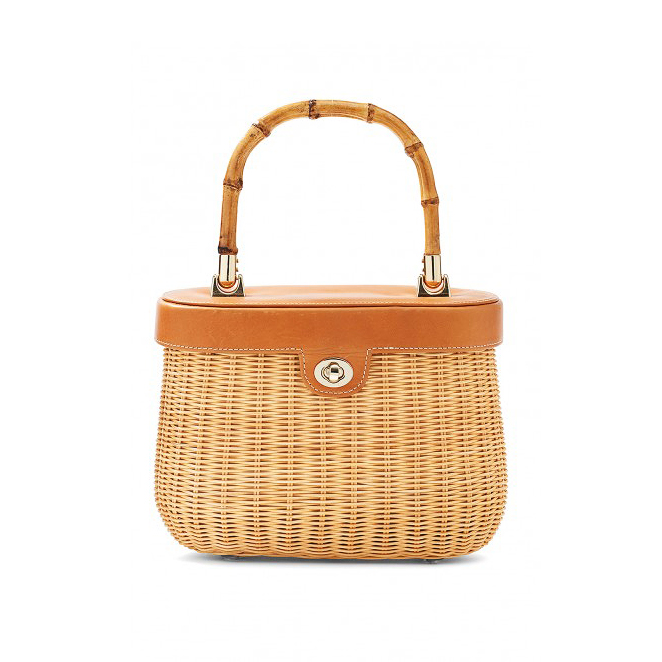 willow anniversary gift wicker bag