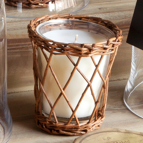 willow anniversary gift candle wrap