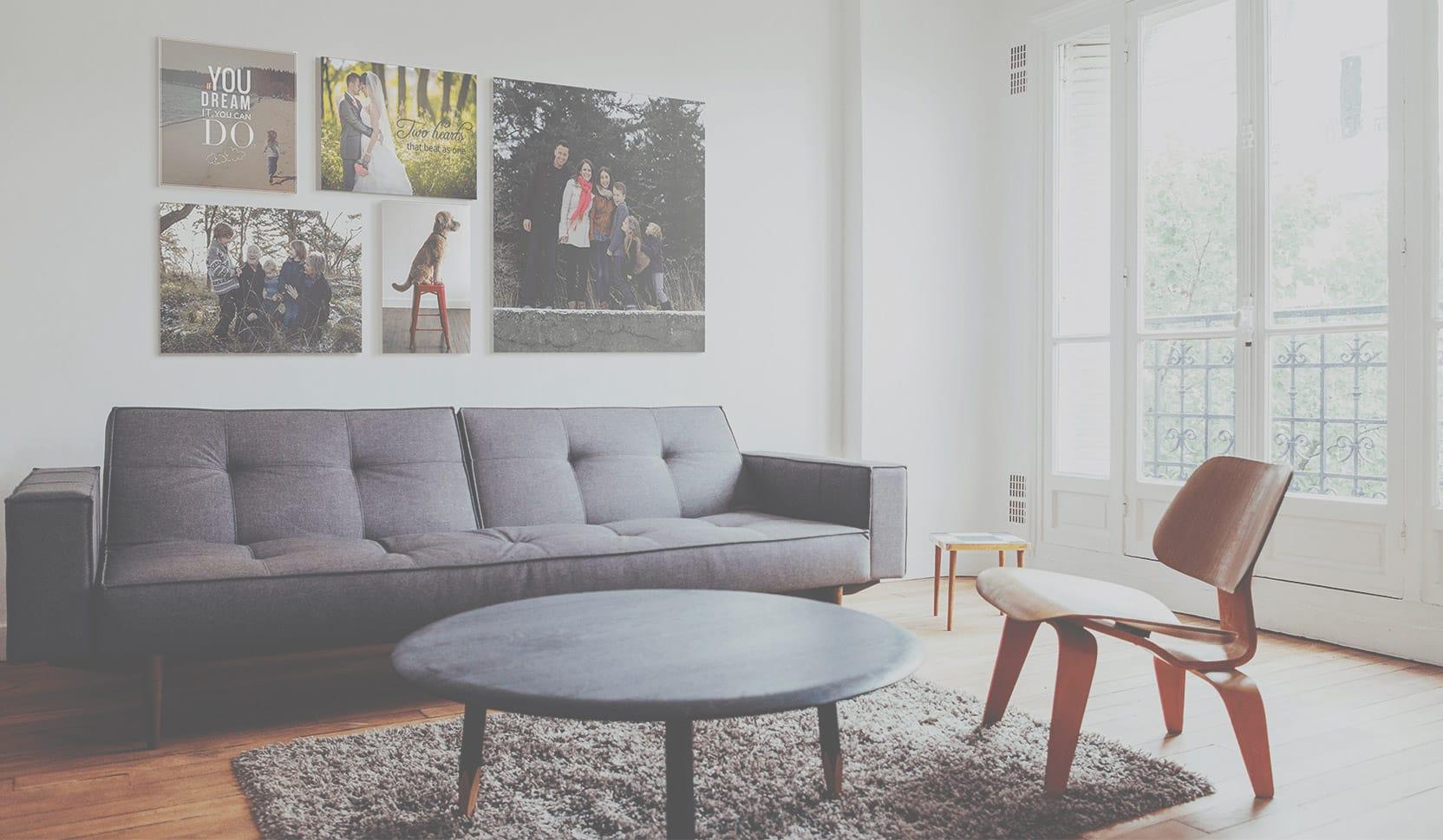 cotton anniversary canvas print bedroom