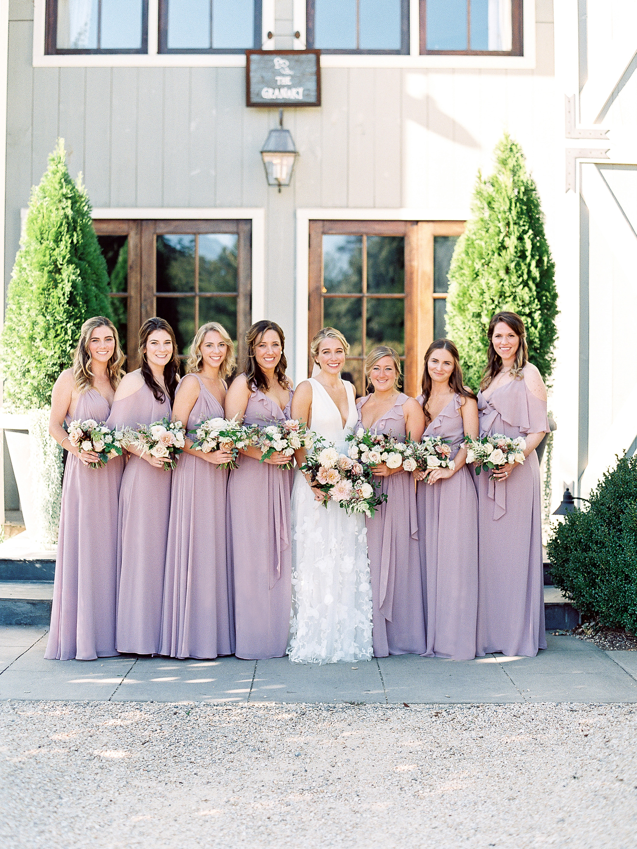 The Best Bridesmaids' Dresses of 2018 | Martha Stewart Weddings